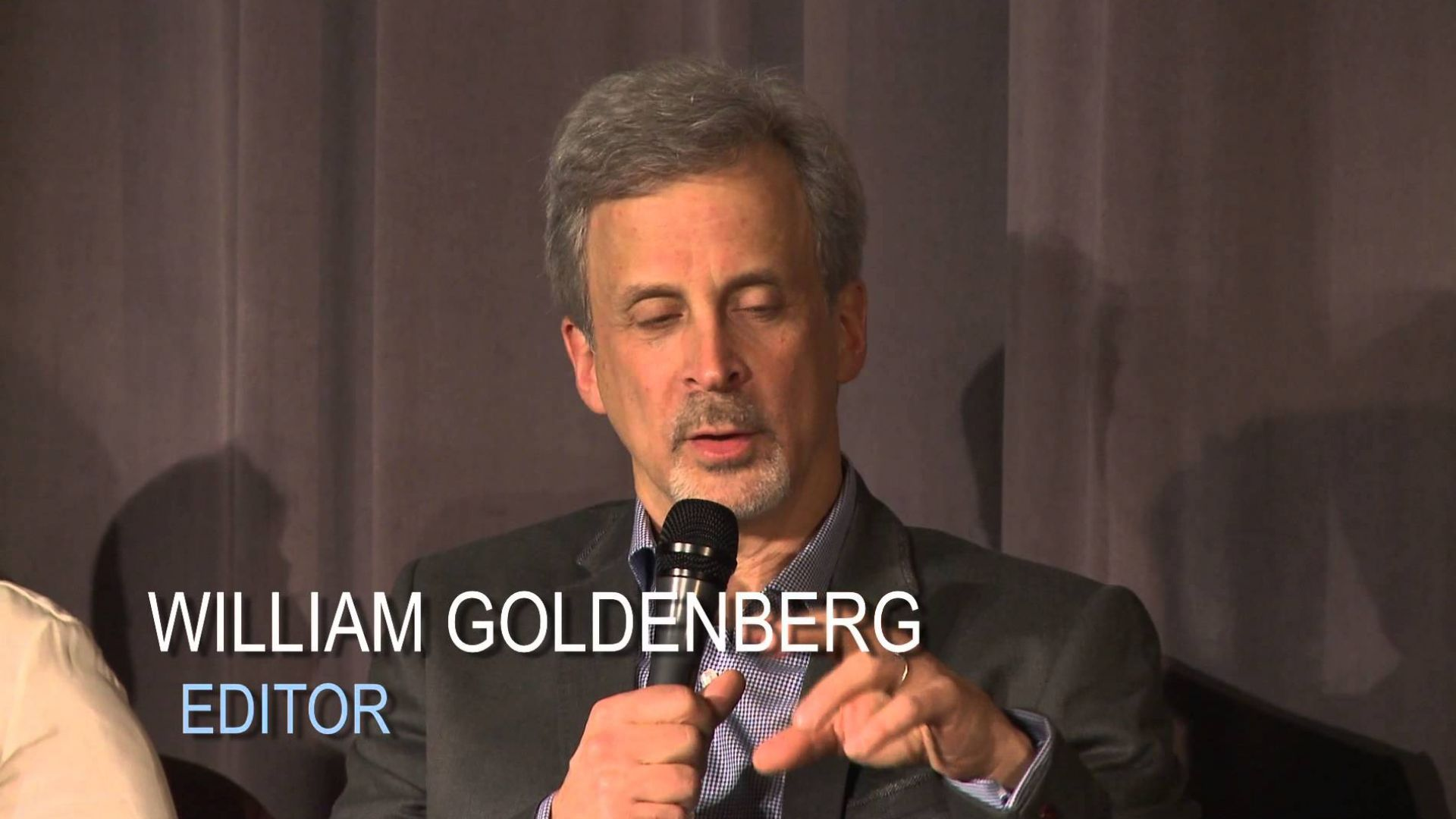 Oscar Nominated Editor William Goldenberg Talks About His De