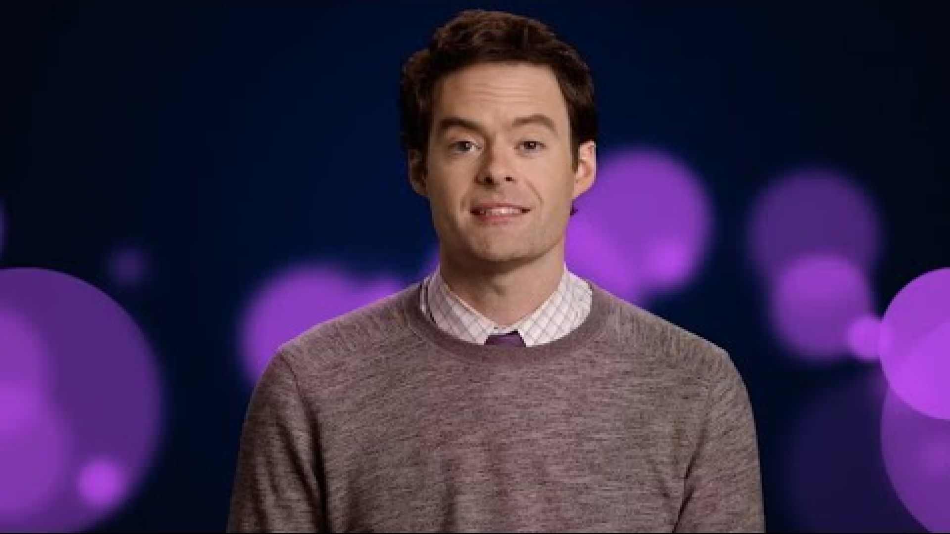 "Bill Hader is Fear (""We did not die today!"") in Pixar's Insi"