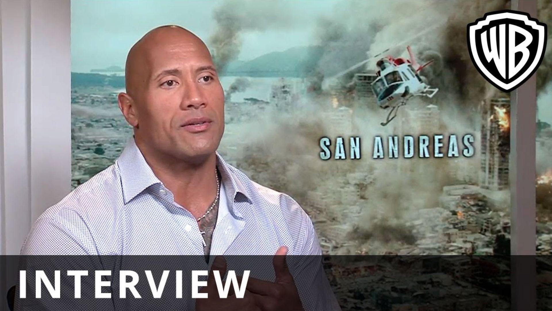 Dwayne Johnson Talks the Making of 'San Andreas'