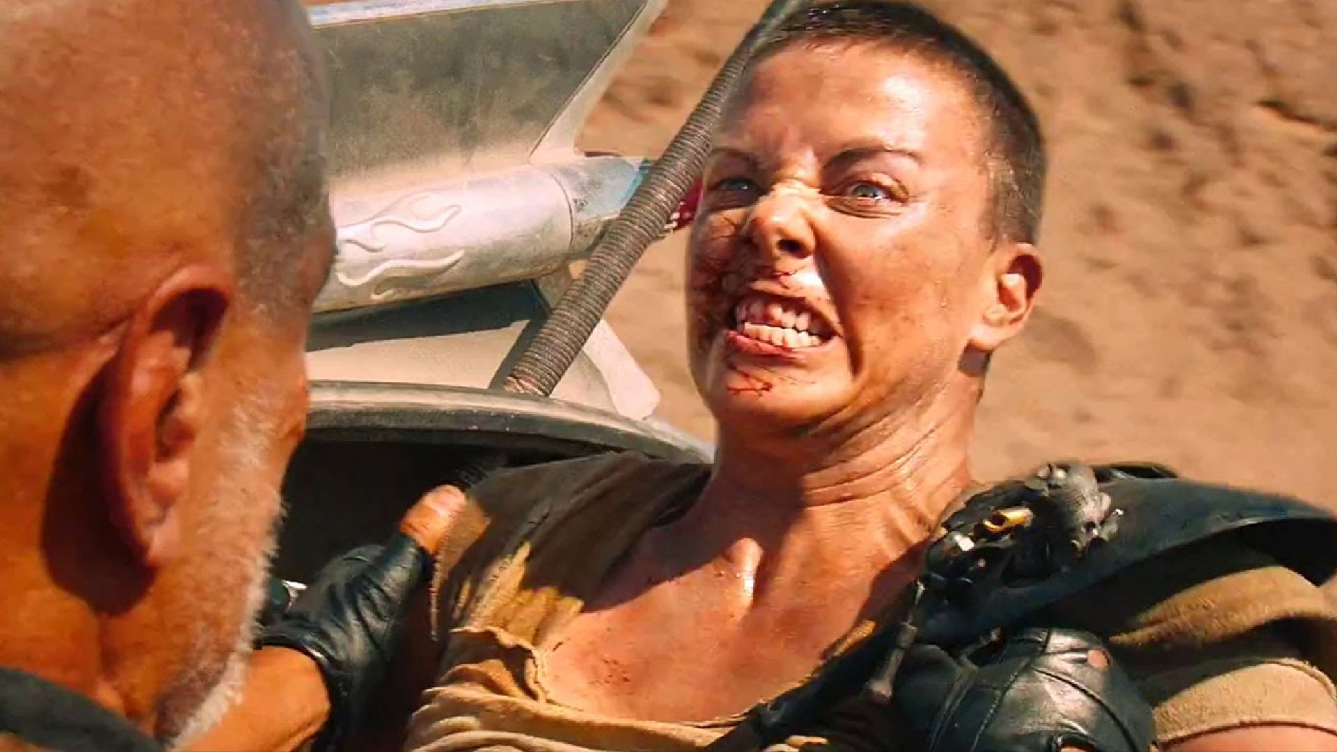 Charlize Theron is pretty bad-ass in new Mad Max: Fury Road