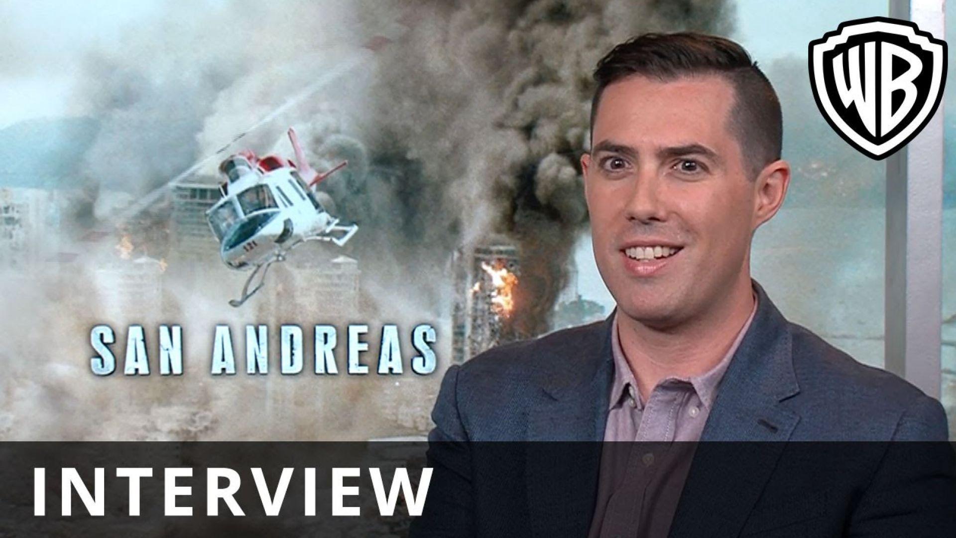 Brad Peyton Discusses Directing 'San Andreas'