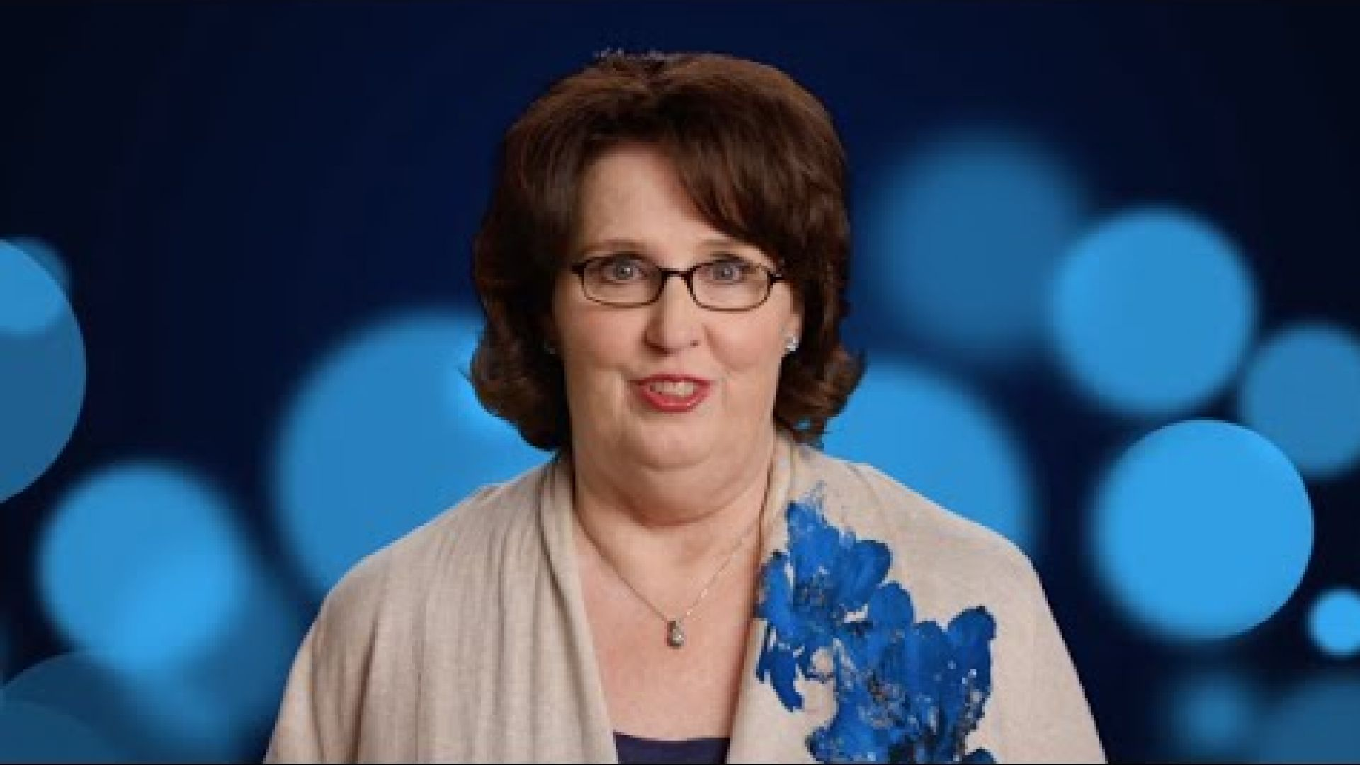 The Office's Phyllis Smith is Sadness in Pixar's Inside Out
