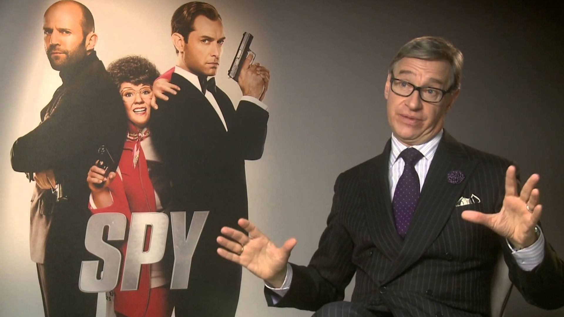 Paul Feig Talks About His Influences for 'Spy'