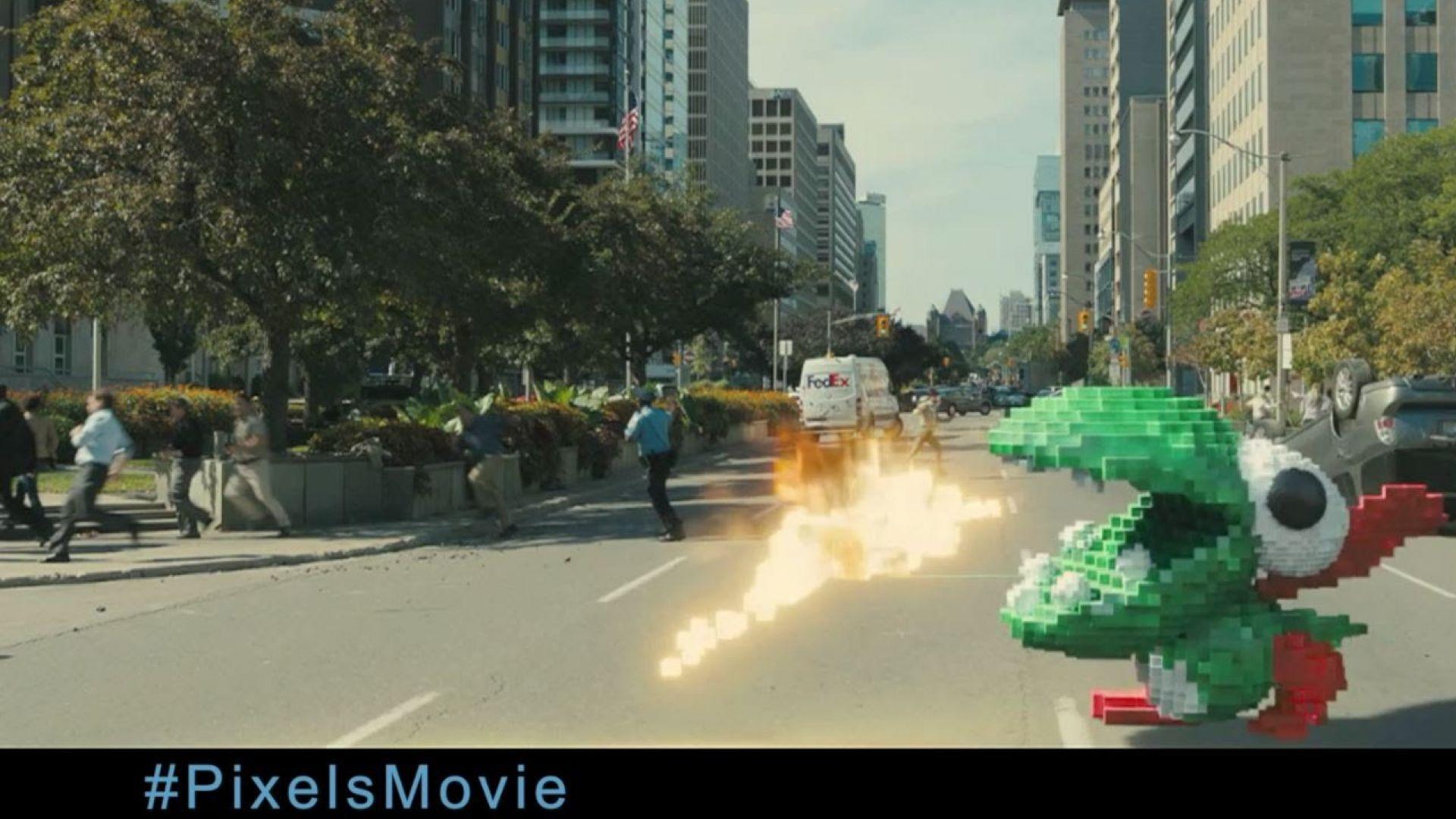 New 'Pixels' Featurette Explores the Video Game World