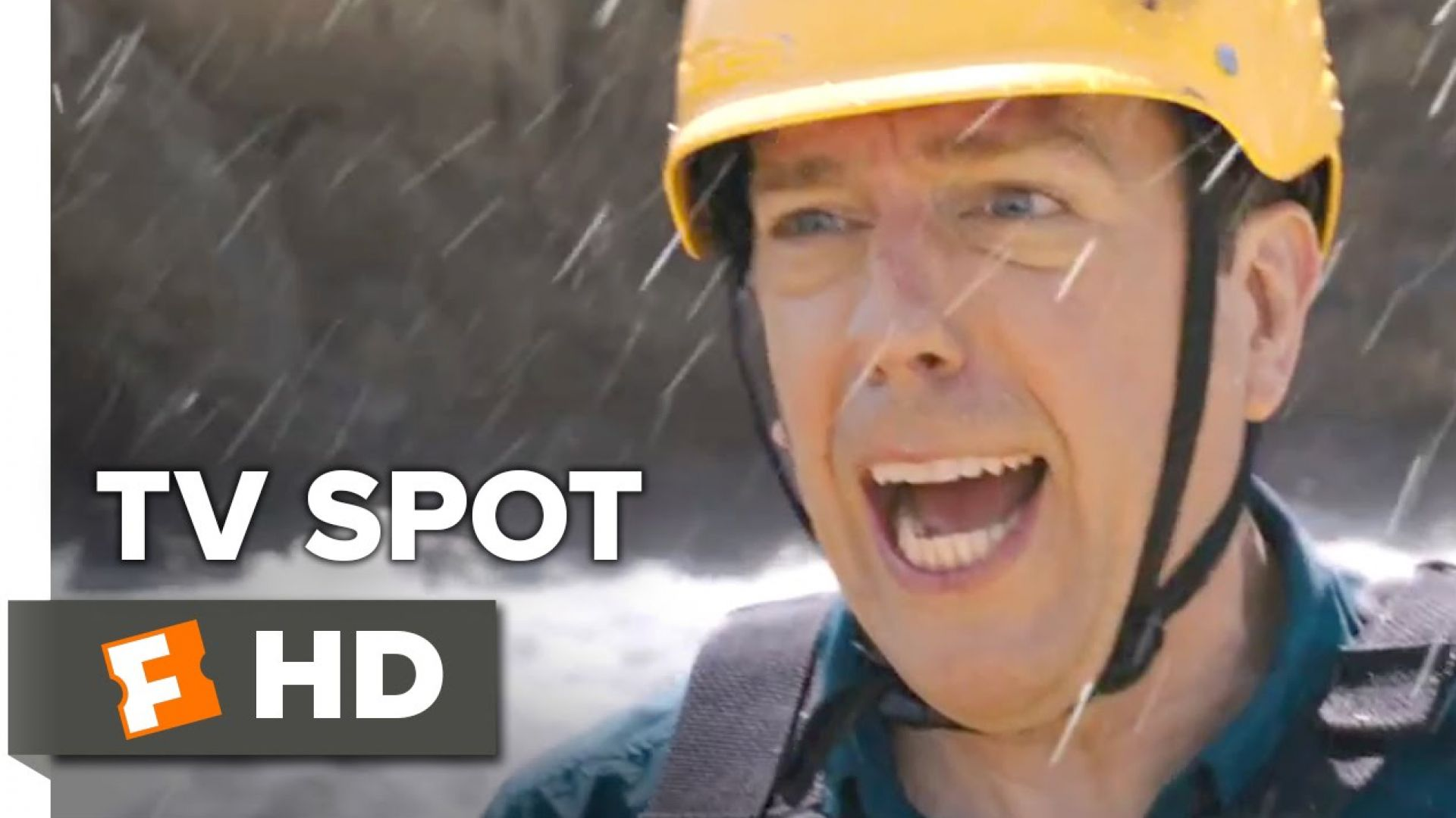 Ed Helms and Christina Applegate have some fun in the car in