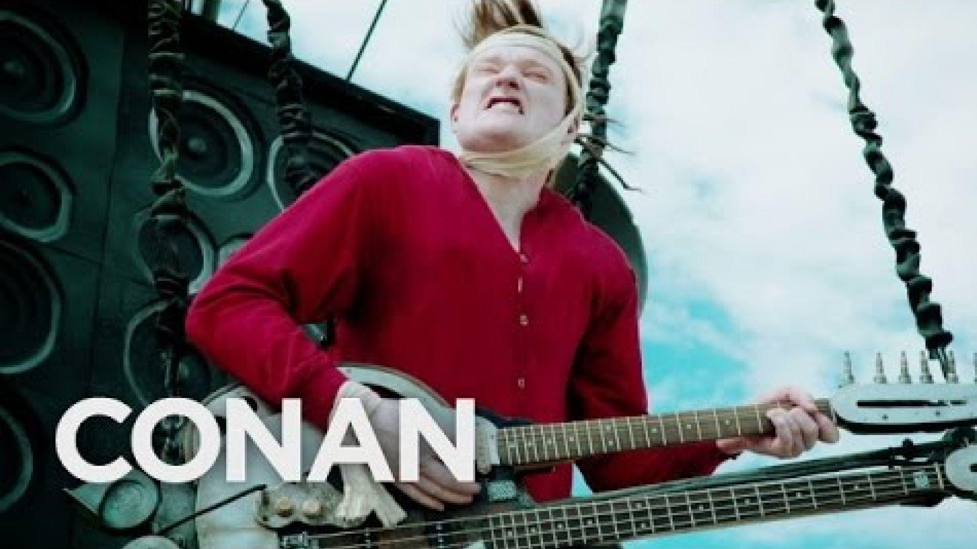 LOL Conan goes to Comic-Con Mad Max-Style