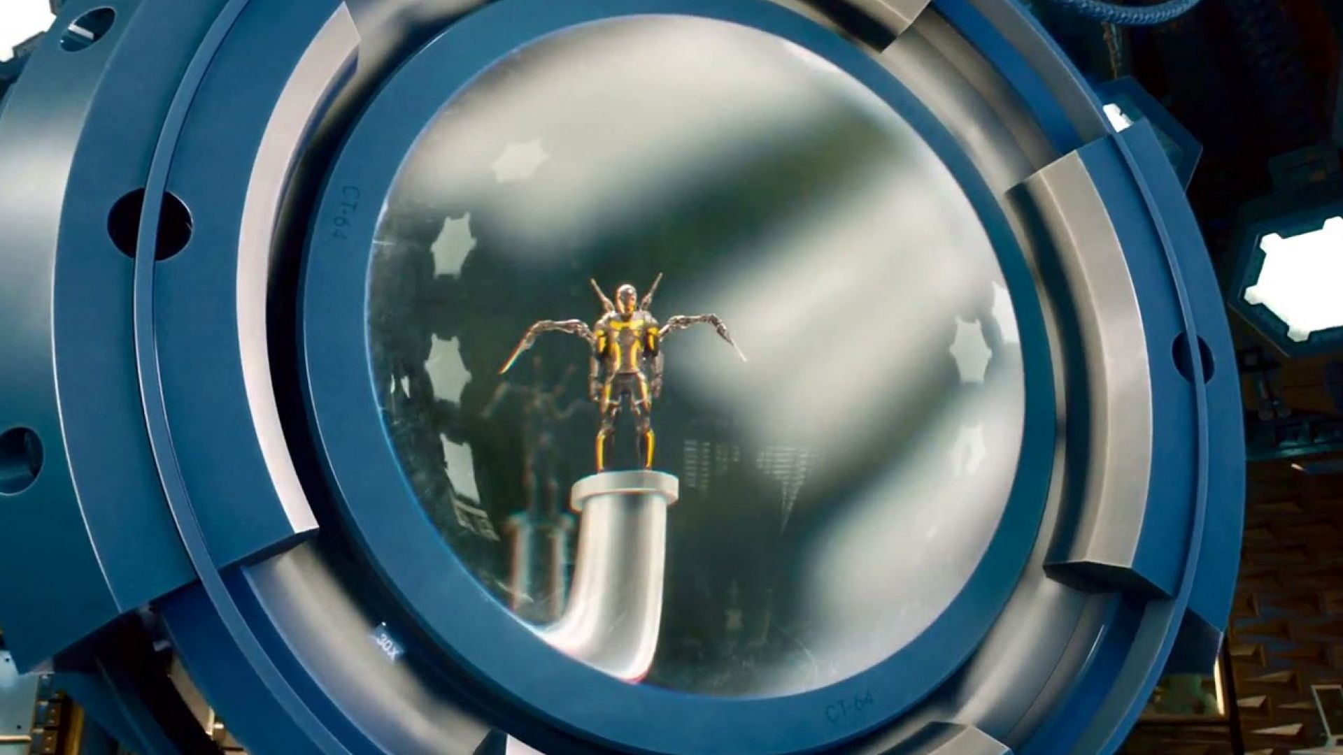 Behind-the-Scenes Look at YellowJacket in Ant-Man
