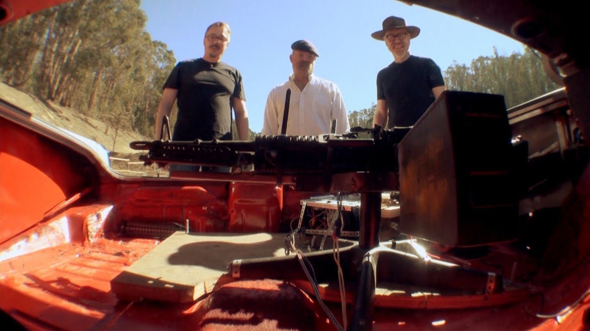 Watch MythBusters take on the 'Breaking Bad' M60 machine gun