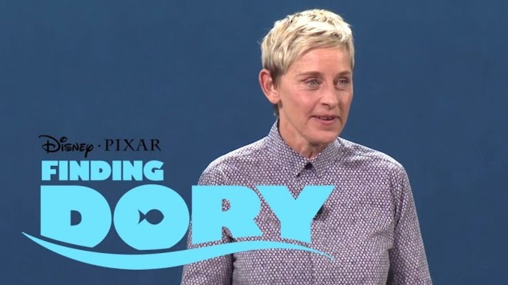 Pixar's 'Finding Dory' D23 Expo Panel Presentation with Elle