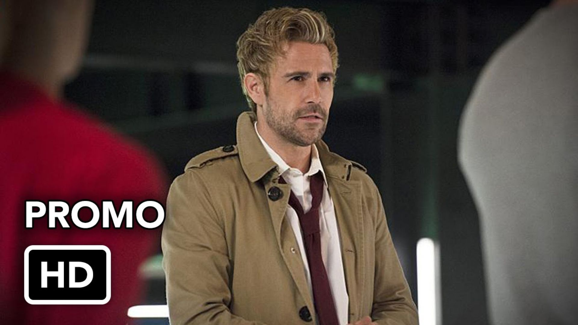 "Arrow 4x05 Promo ""Haunted"" with guest star John Constantine"