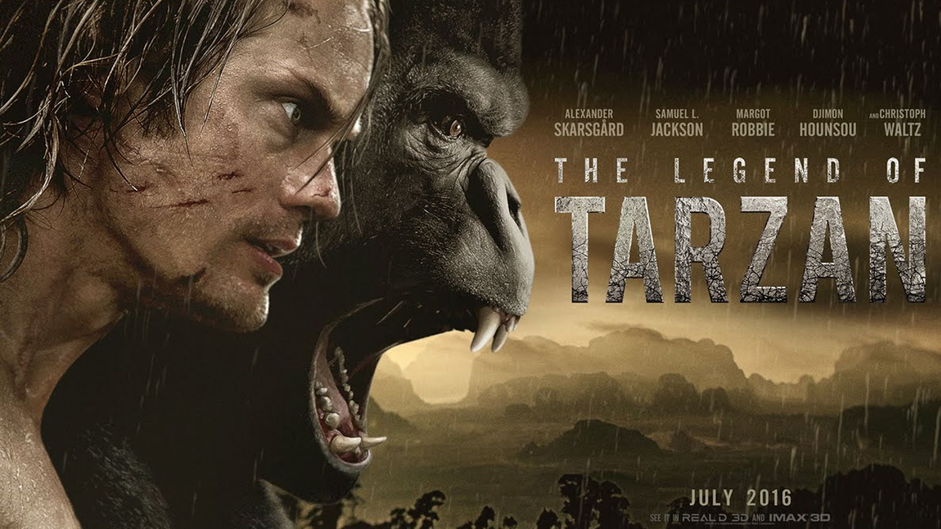 The Legend Of Tarzan Official Teaser Welcomes the King of th
