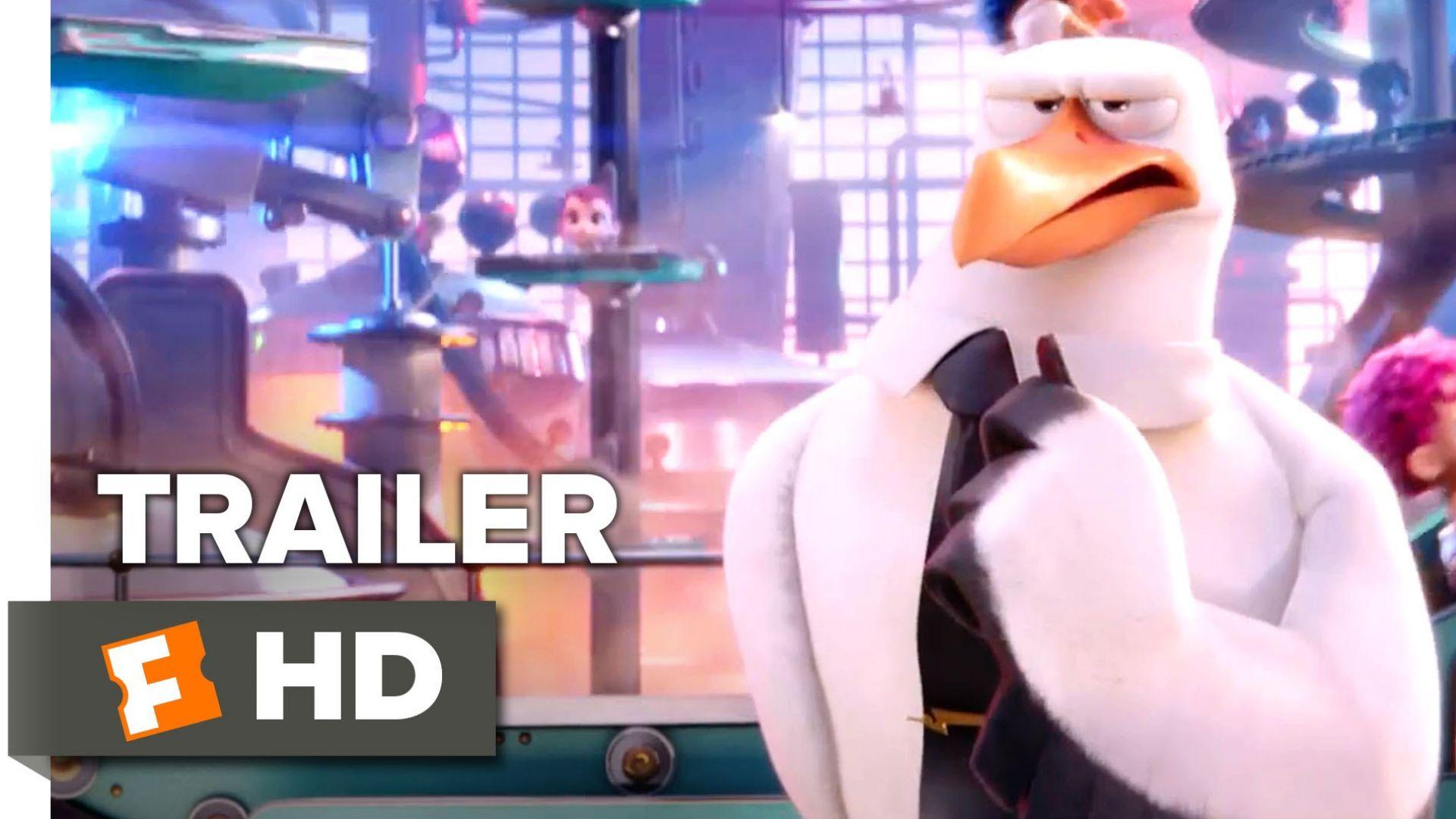Storks - Teaser Trailer #1 (Kelsey Grammer)