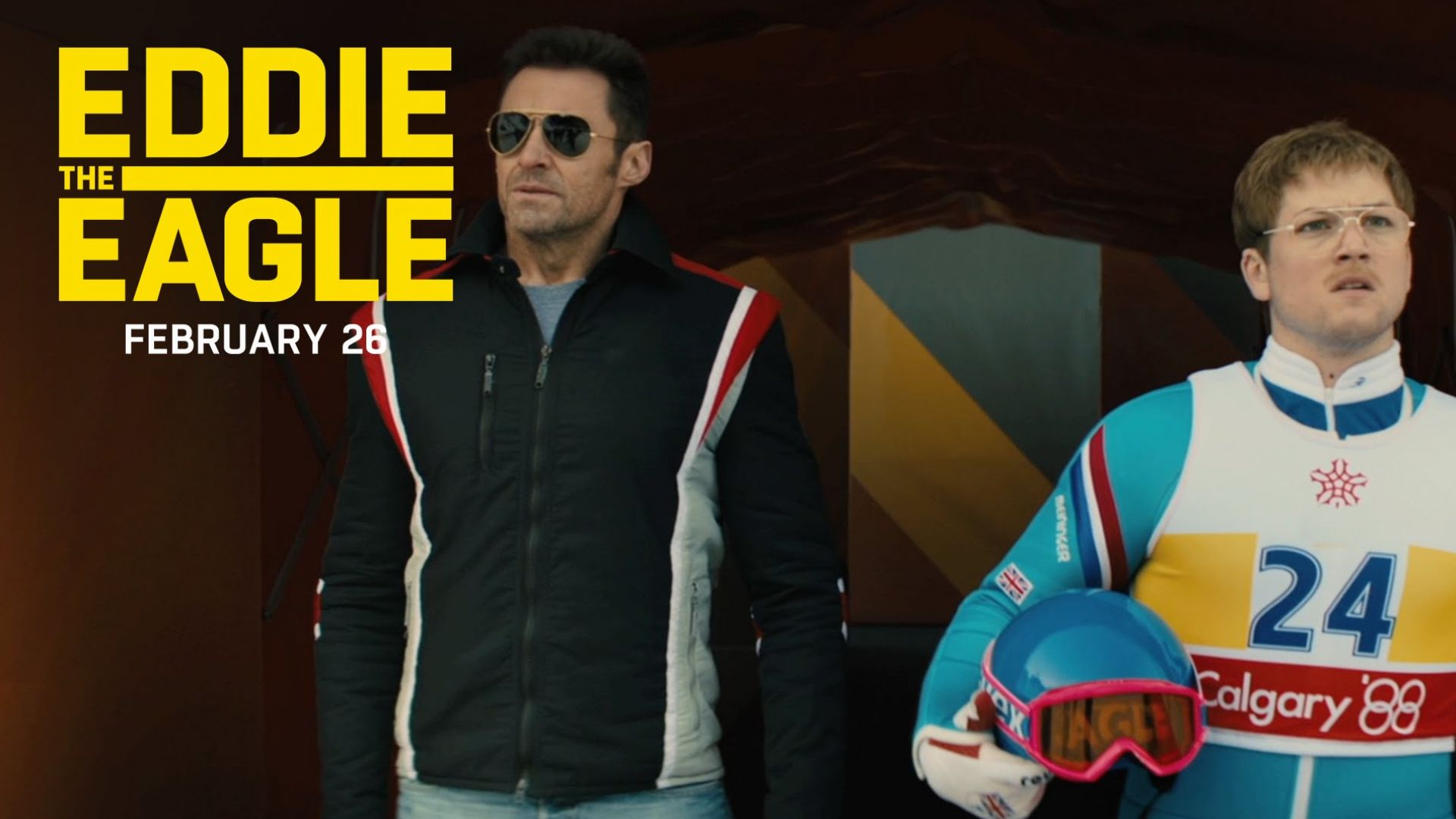 """Eddie The Eagle """"You Gotta Fly"""" TV Commercial"""