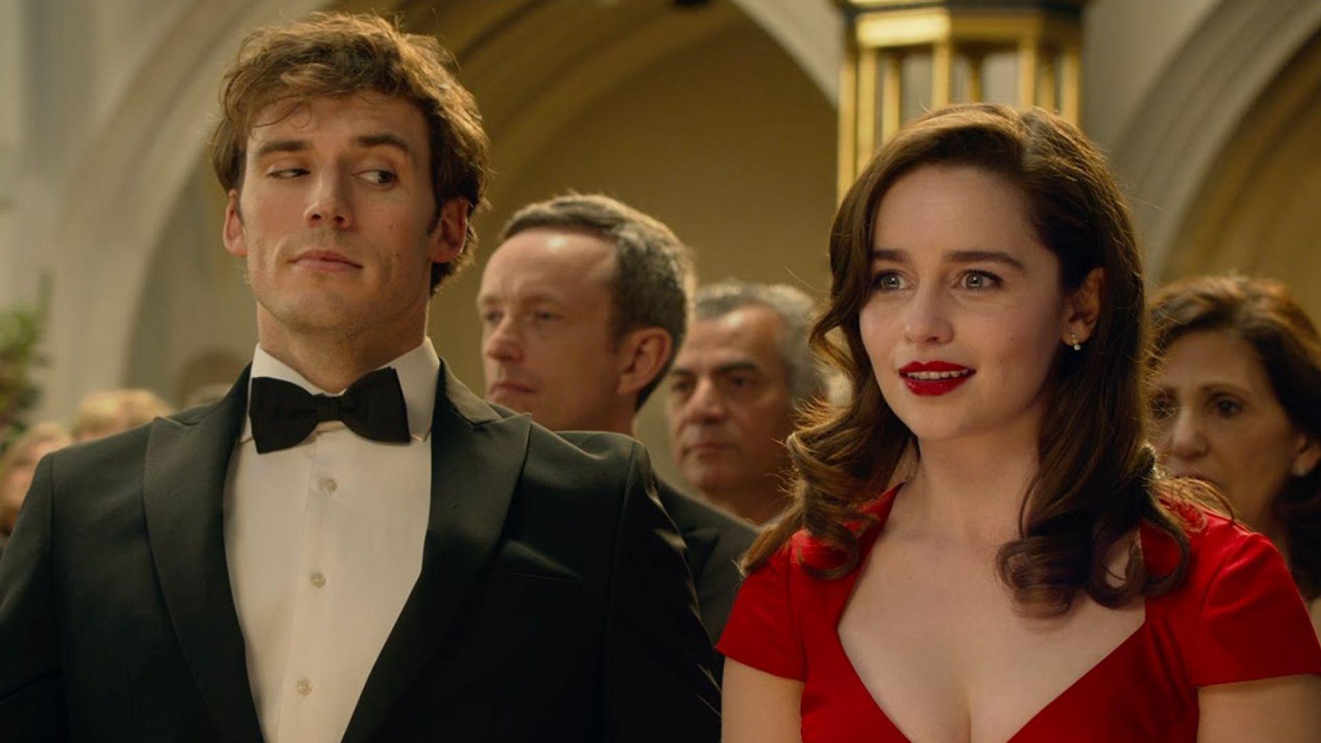 Emilia Clarke and Sam Claflin in 'Me Before You'. Drama base