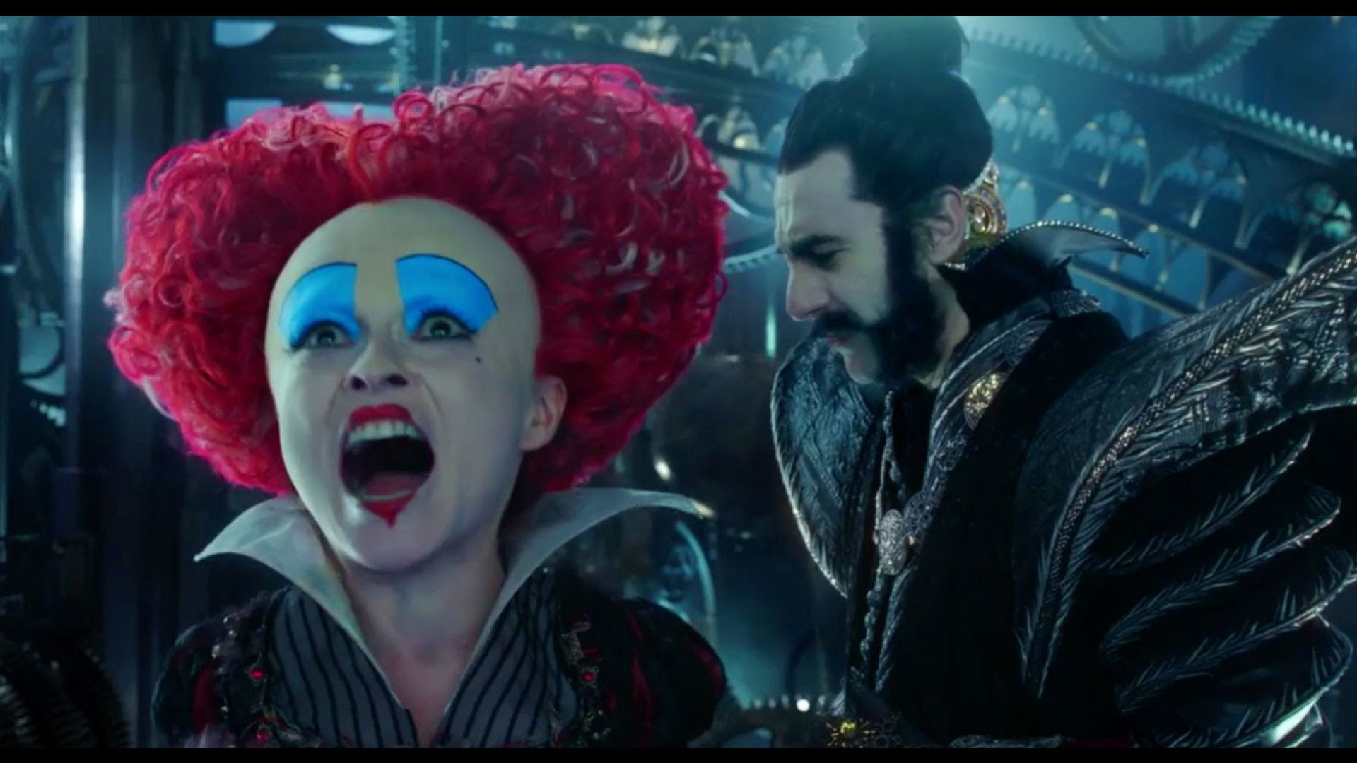 Alice Through The Looking Glass Teaser Johnny Depp Disney Ad