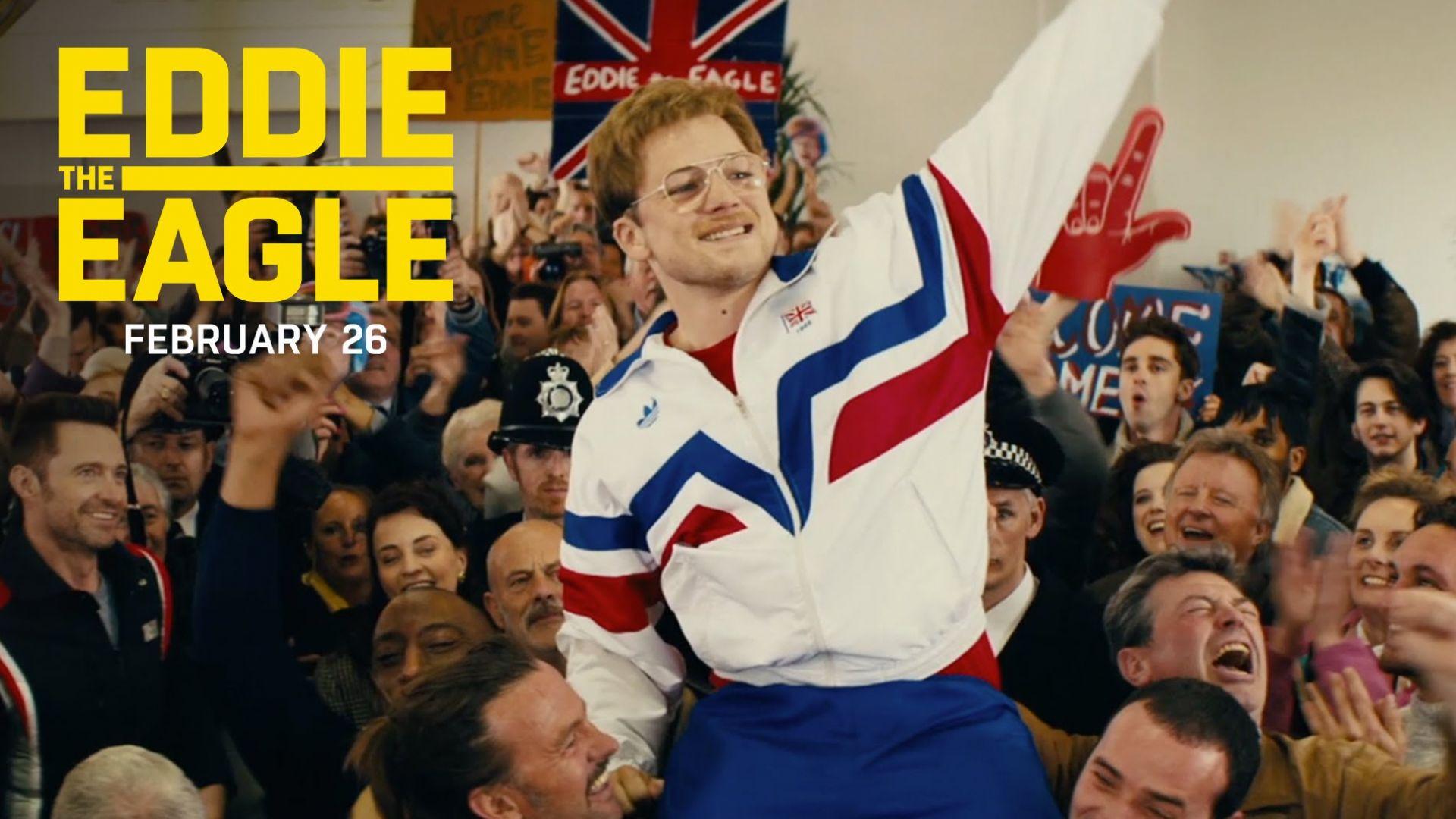 "Eddie The Eagle ""America Cheers For Eddie"" TV Commercial"