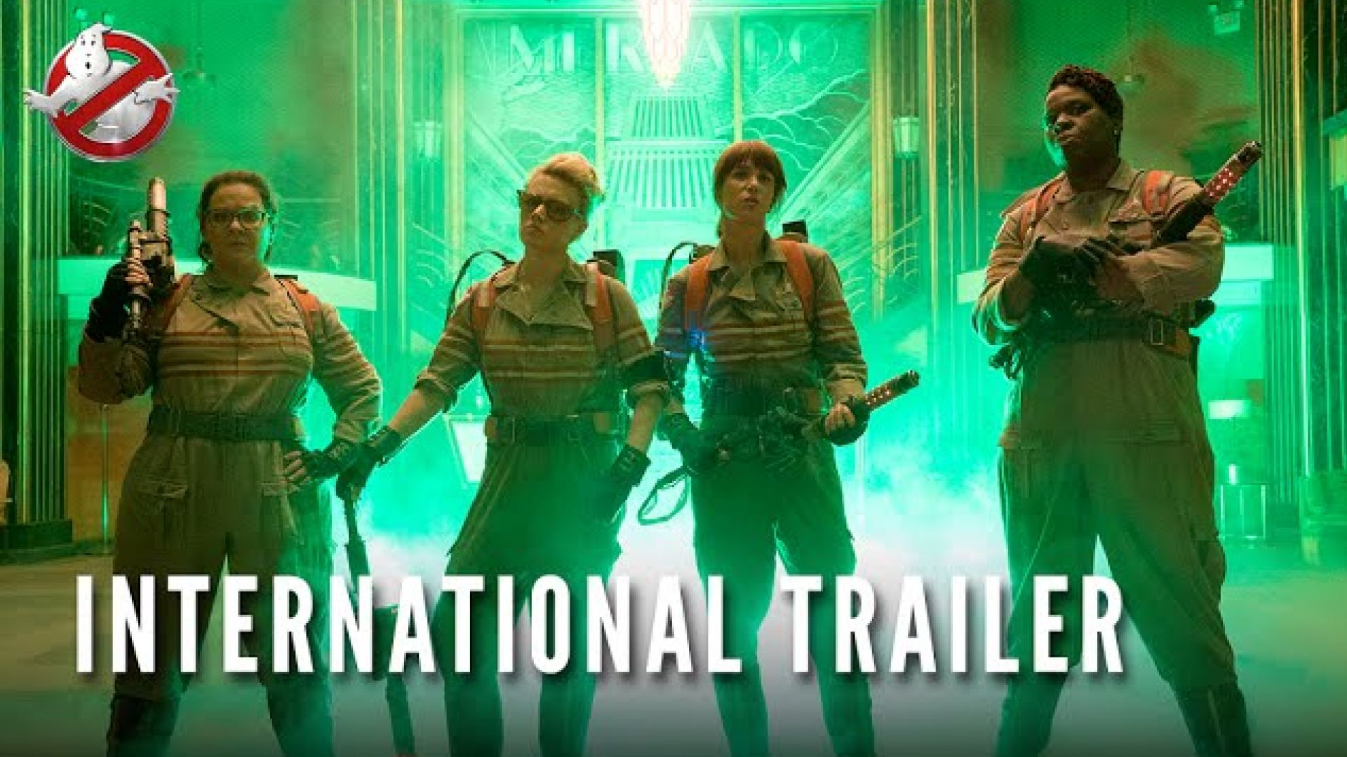 Ghostbusters International Trailer