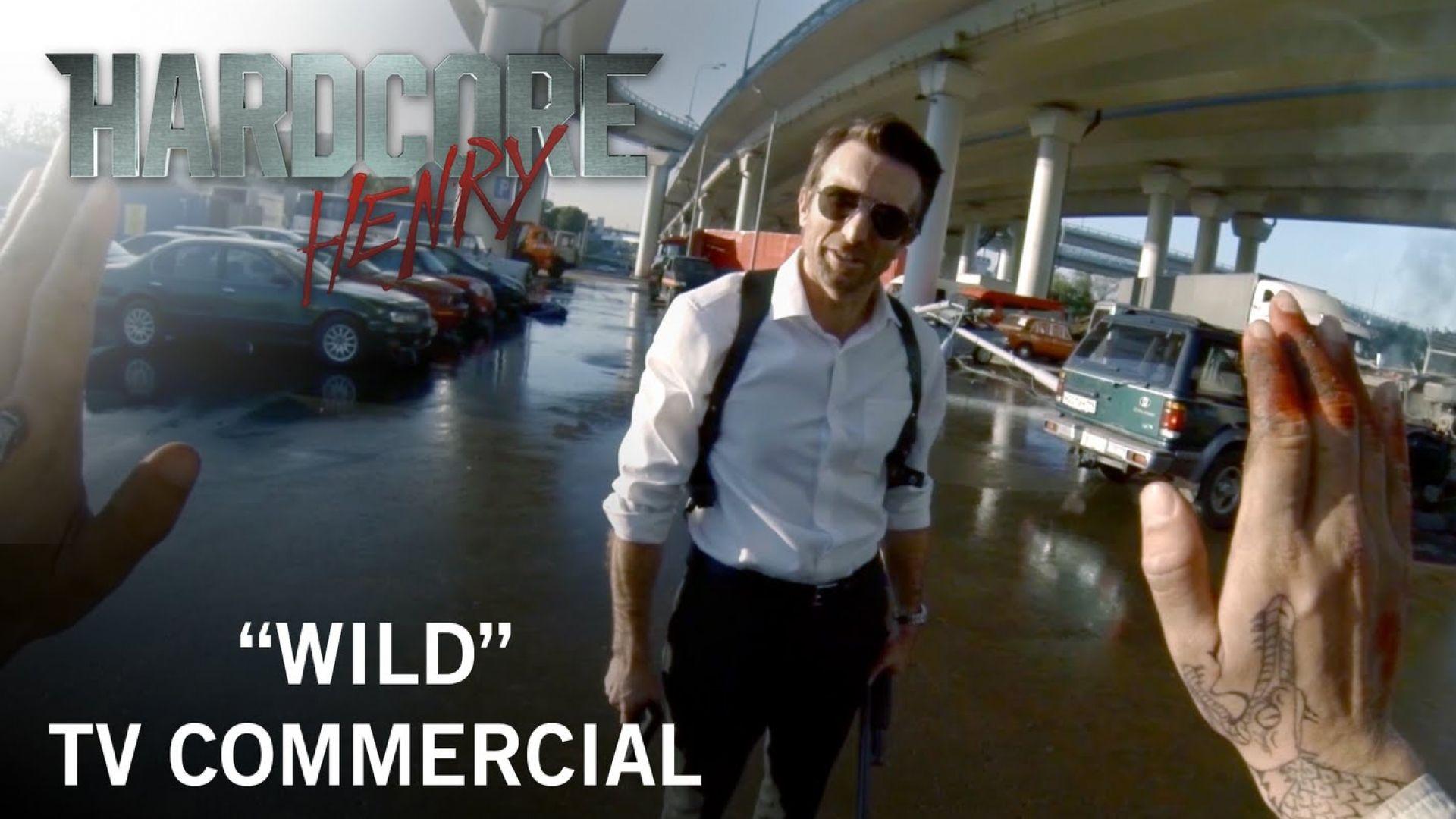 """Hardcore Henry """"Wild"""" TV Commercial"""