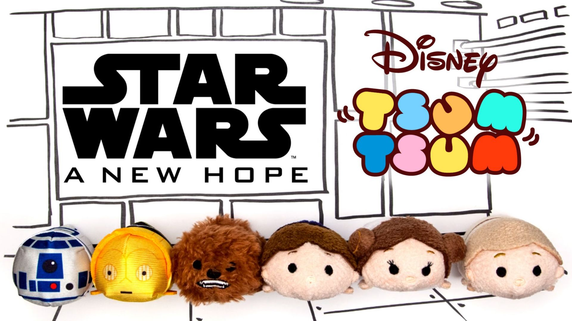 Star Wars: A New Hope As Told By Tsum Tsum Oh My Disney