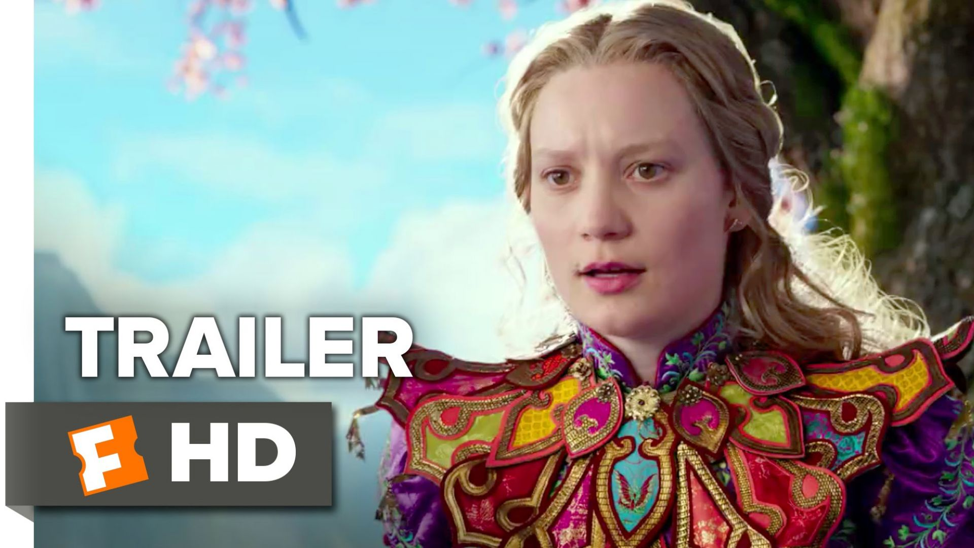 'Alice Through The Looking Glass' Trailer 2. Opens on May 27