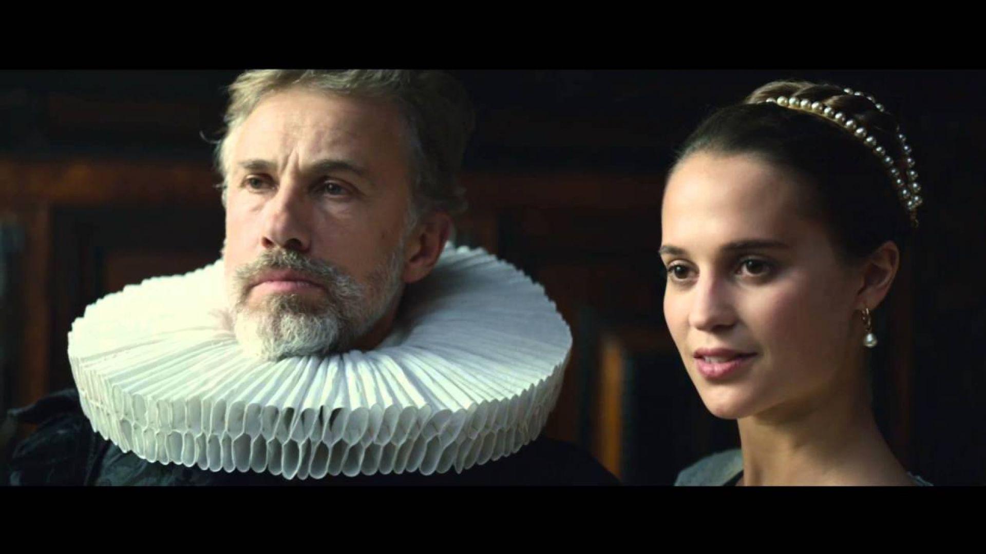 Trailer: Alicia Vikander is magnetic in 'Tulip Fever,' also