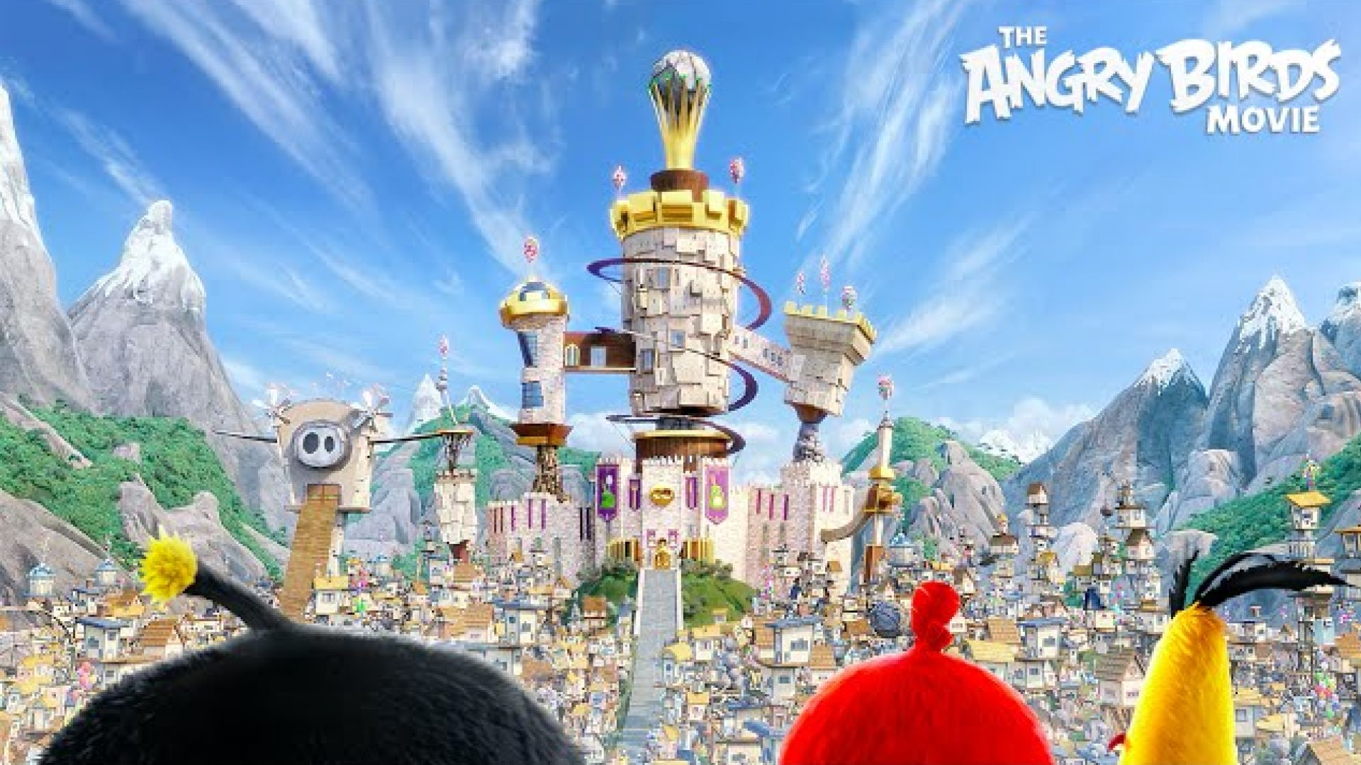 """""""The Angry Birds"""" Battle Trailer"""
