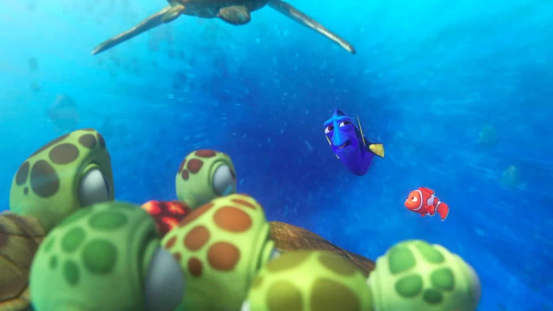 """First TV Spot for 'Finding Dory' - """"She's Almost Here"""""""