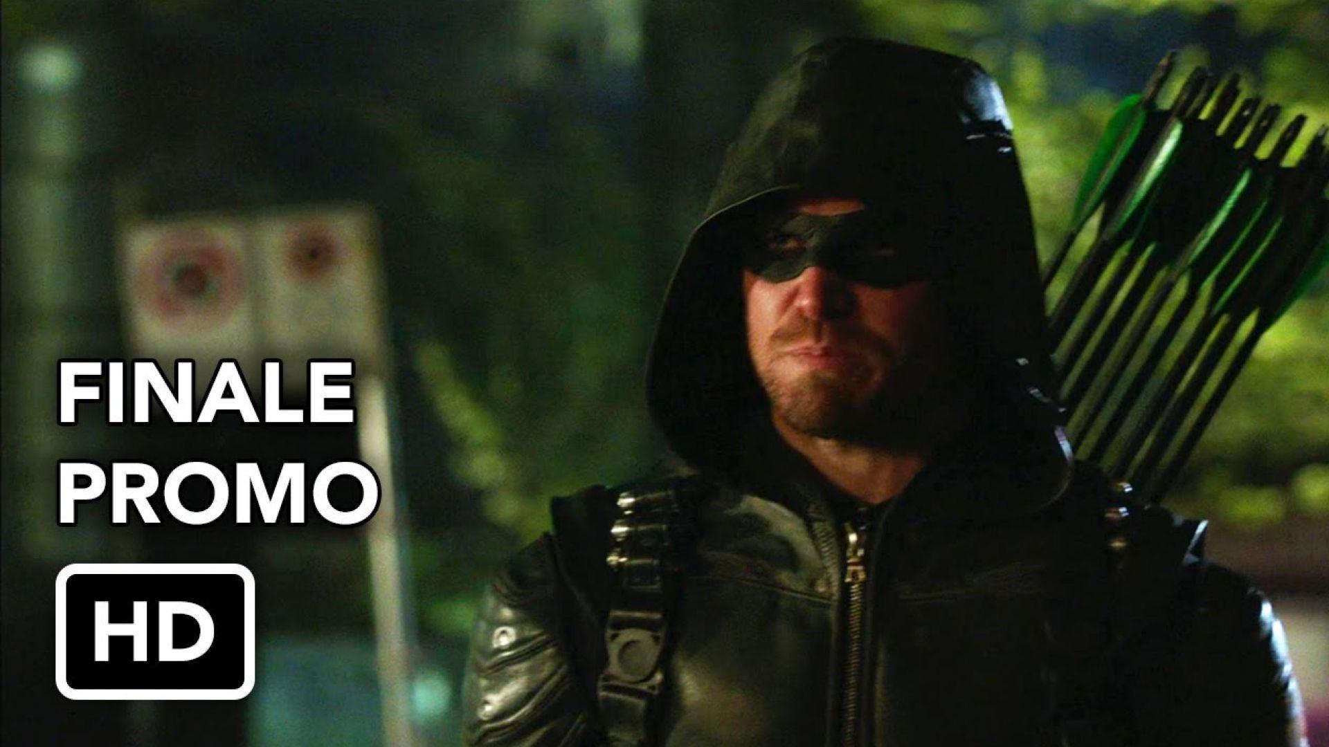 "Arrow 4x23 Extended Promo ""Schism"" Season Finale"