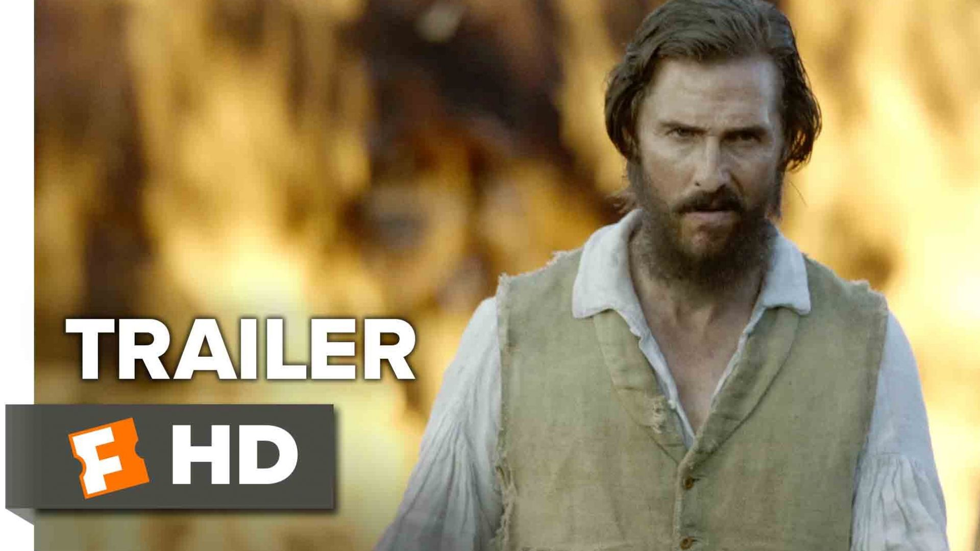 New trailer for Civil War Film 'Free State of Jones' with Ma