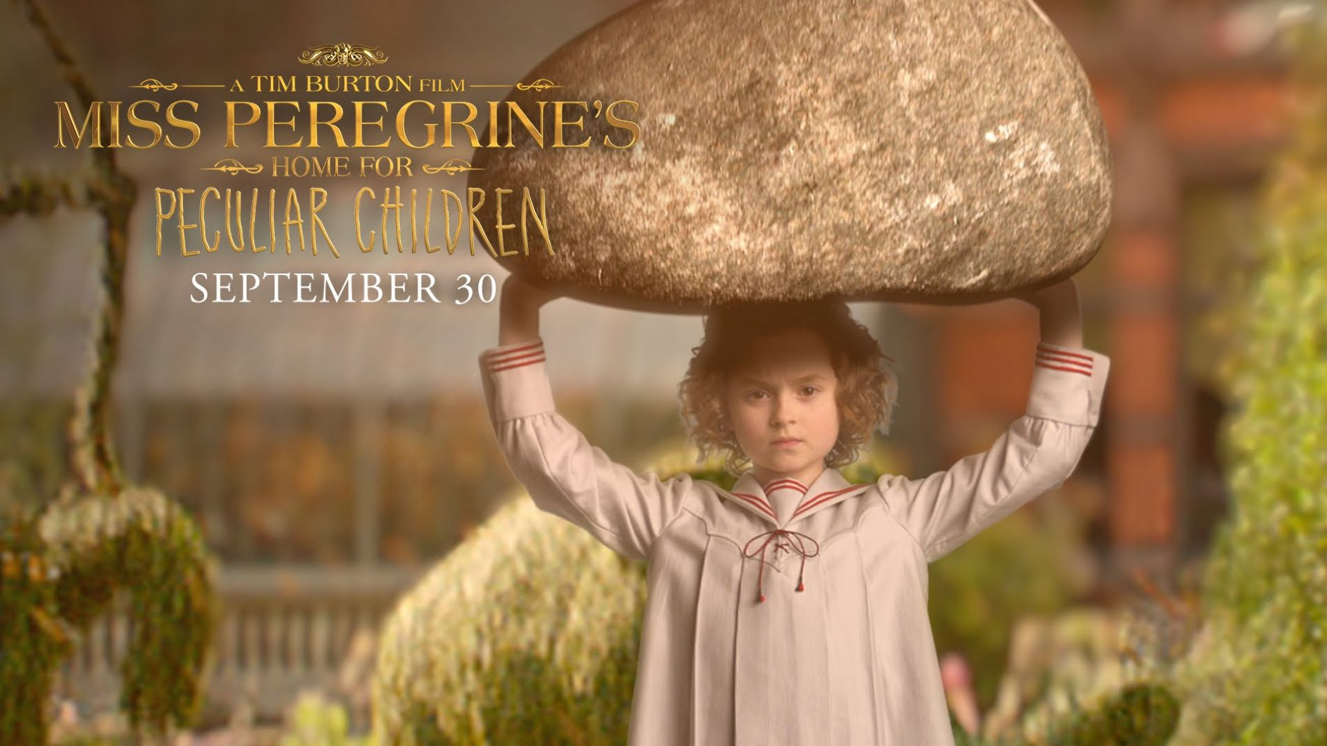 Miss Peregrine S Home For Peculiar Children Trailer Announce Cultjer