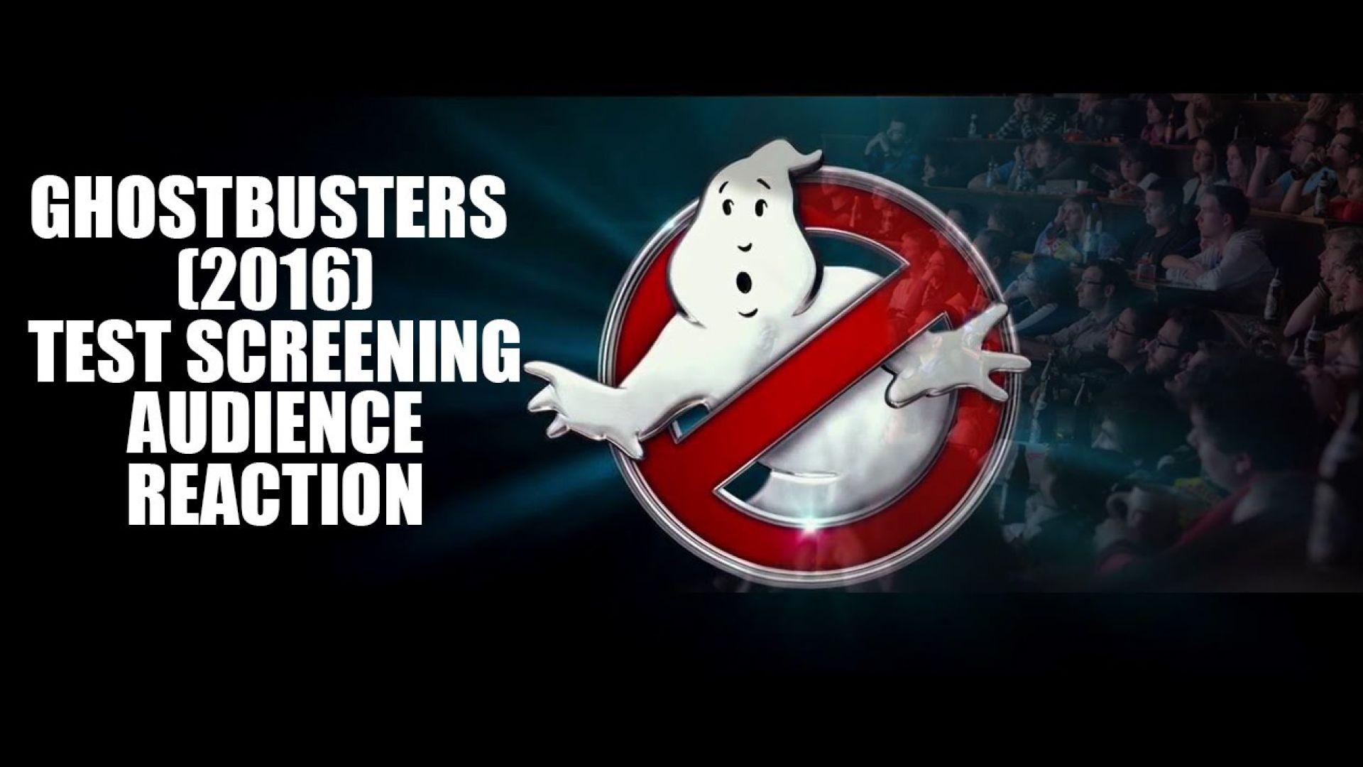 Ghostbusters Test Screening Audience REACTION!