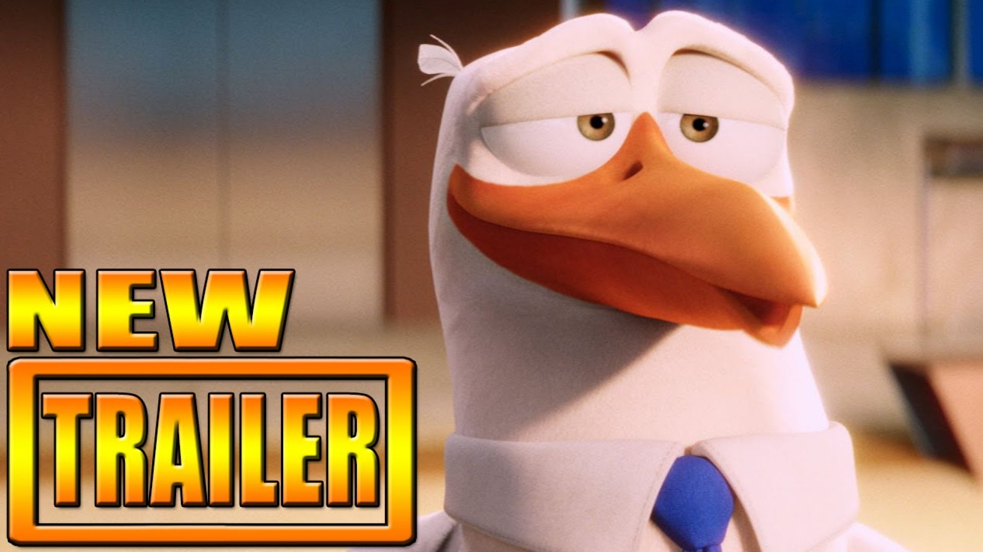 'Storks' trailer with Kelsey Grammer and Andy Samberg. Premi