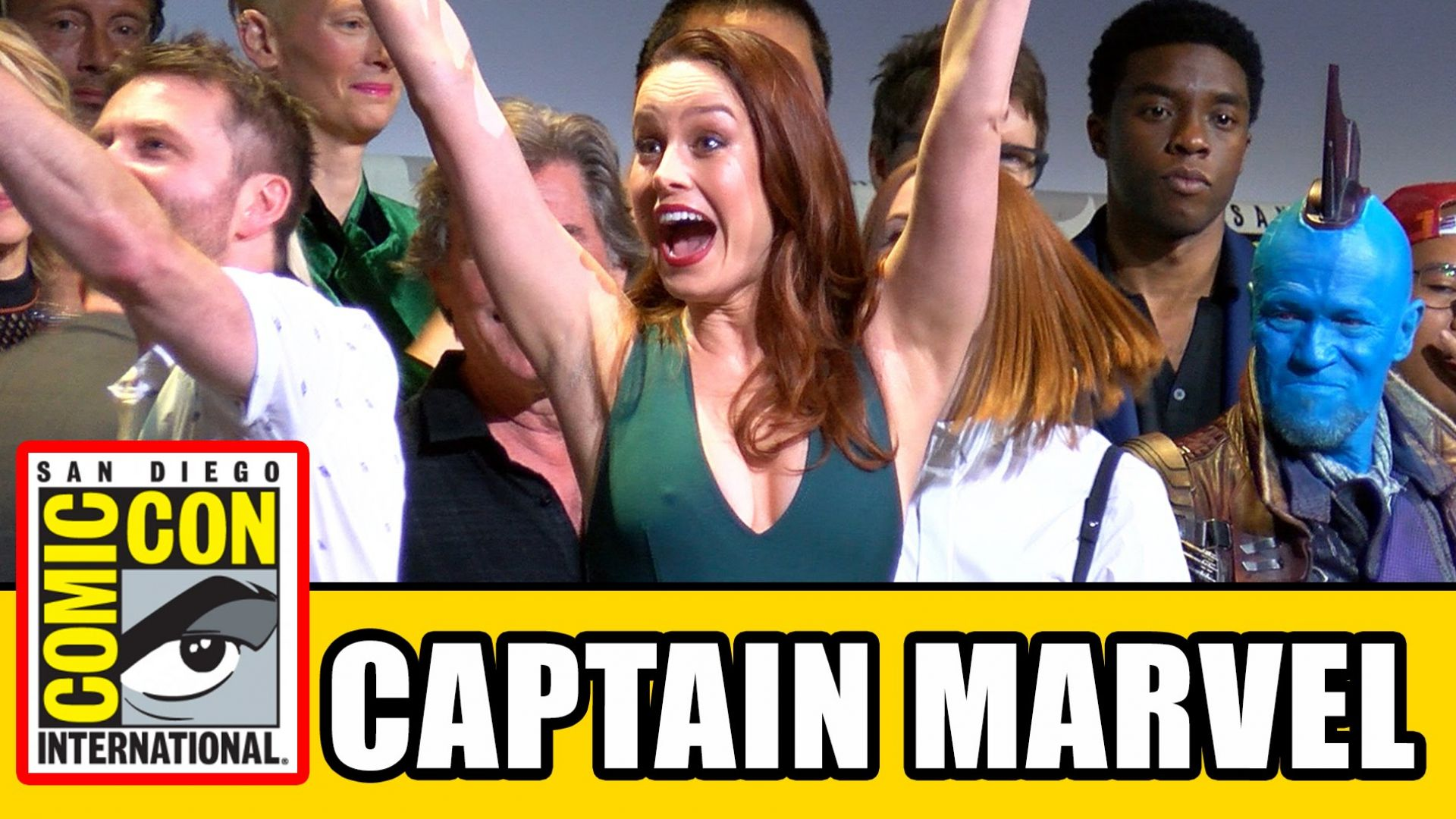 Watch the Captain Marvel announcement panel from SDCC here