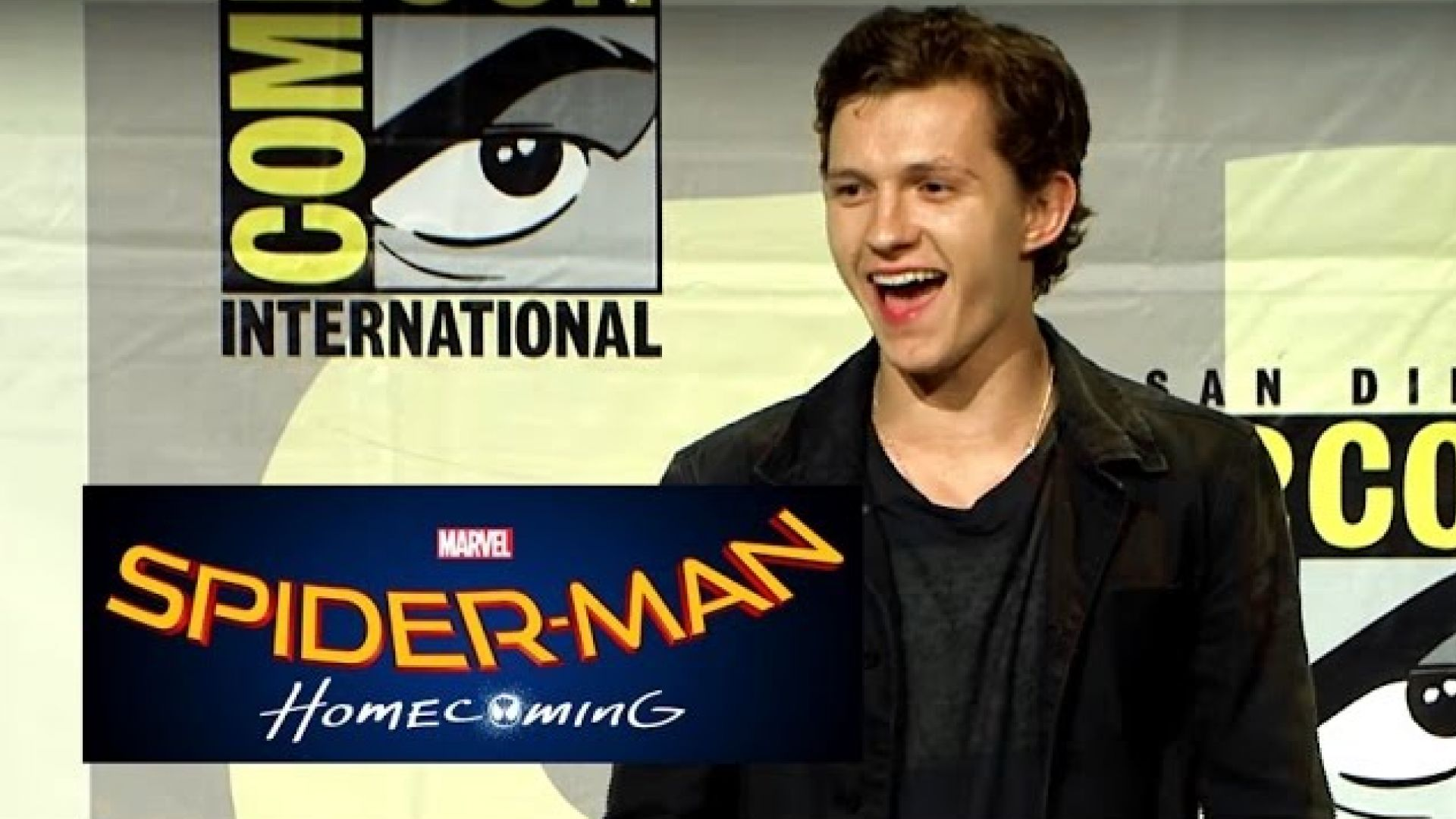 Check out the Spider-Man; Homecoming panel from Hall H at SD