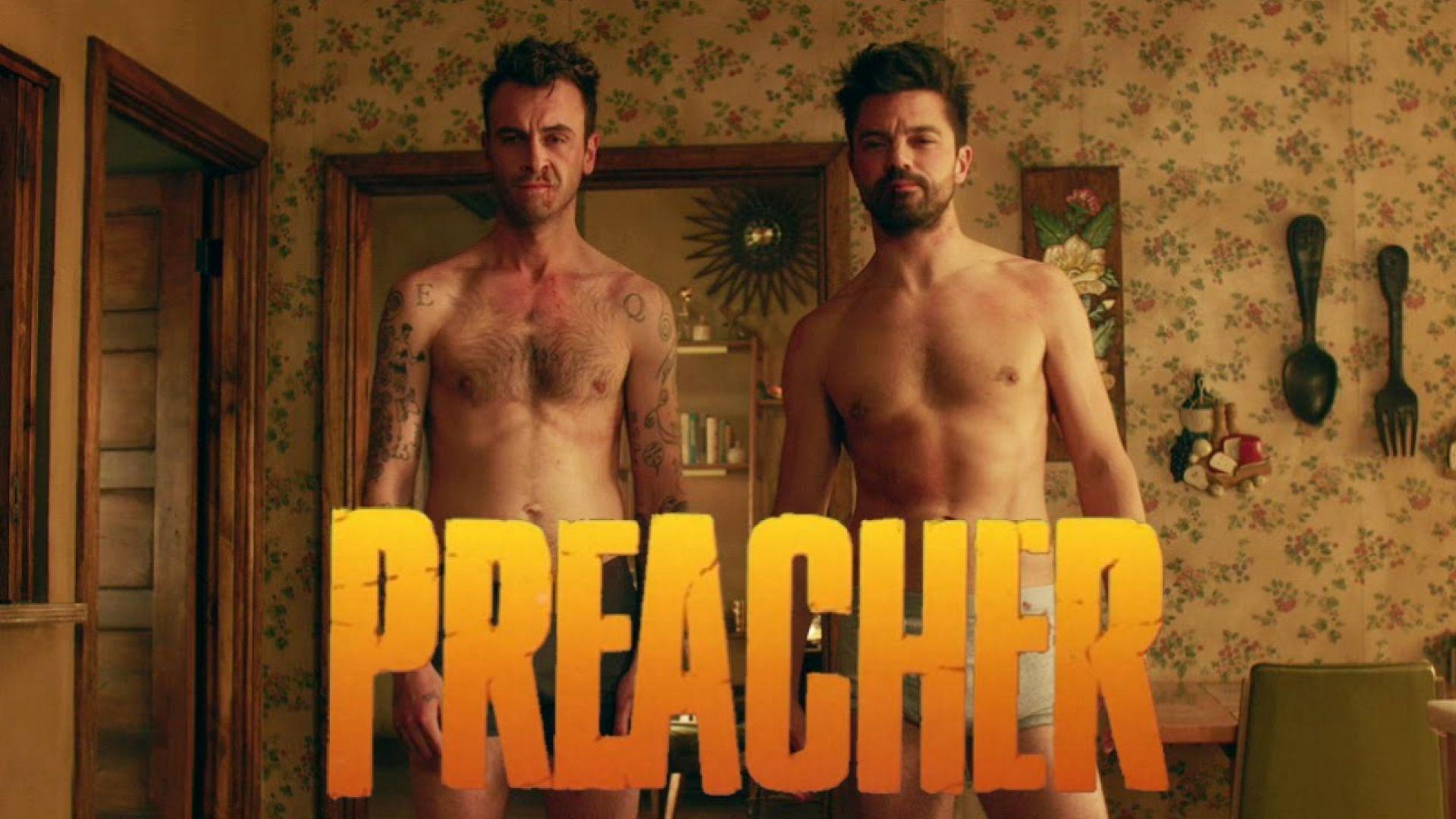 Preacher naked