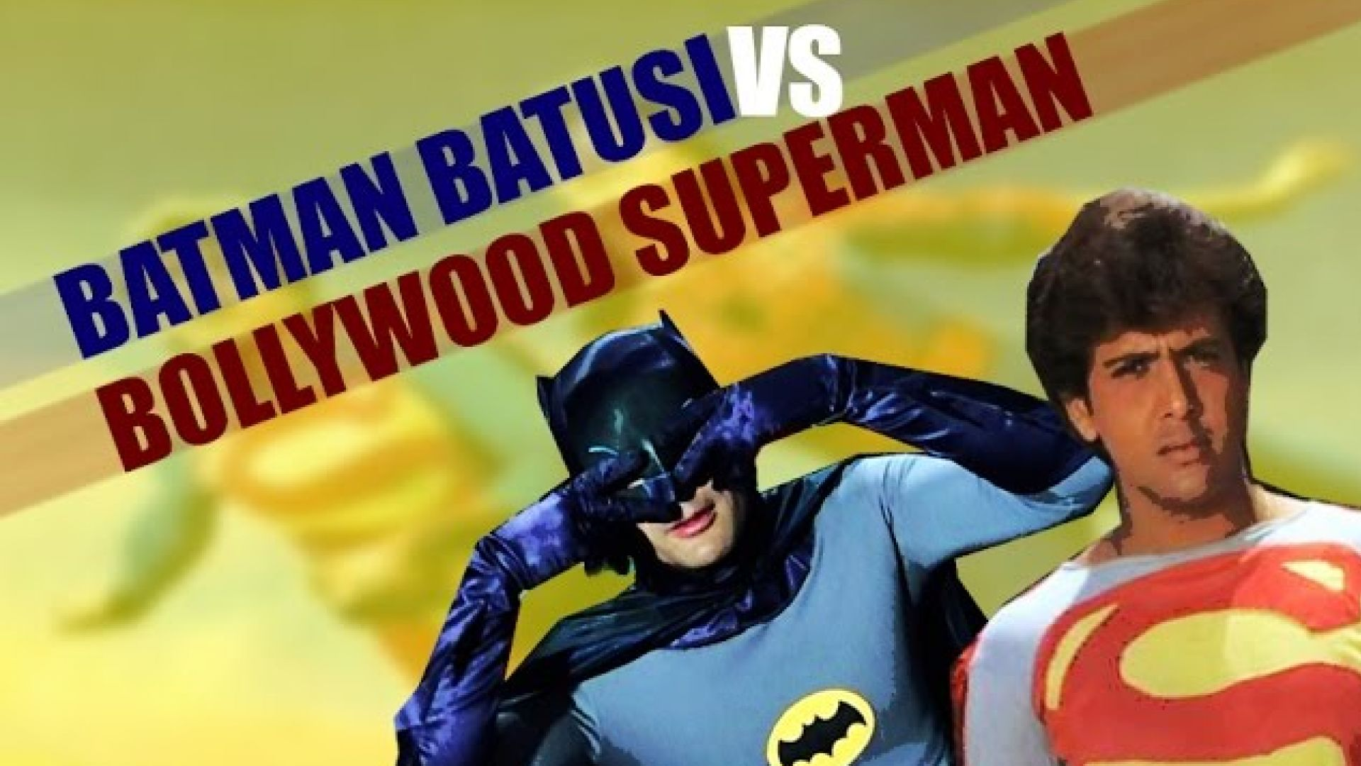 Batman Batusi v Bollywood Superman