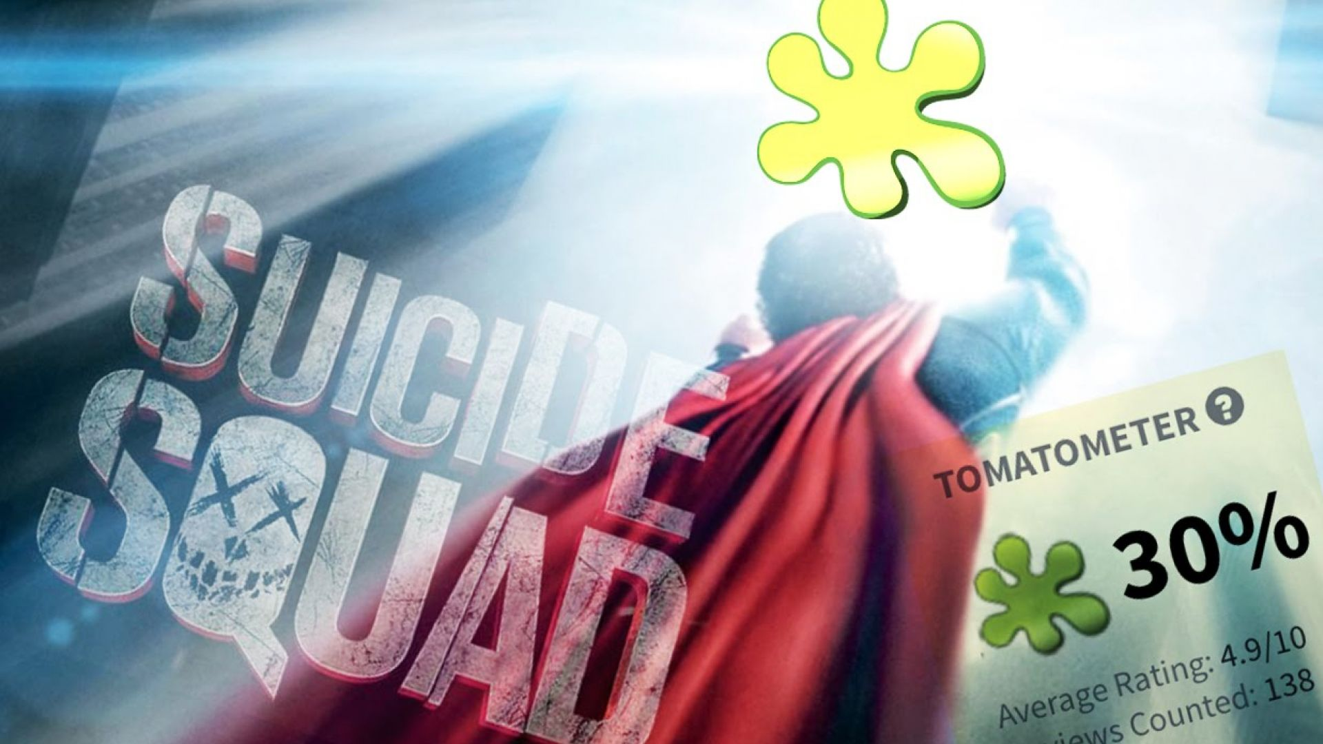 Man of Steel Fights Suicide Squad Critics