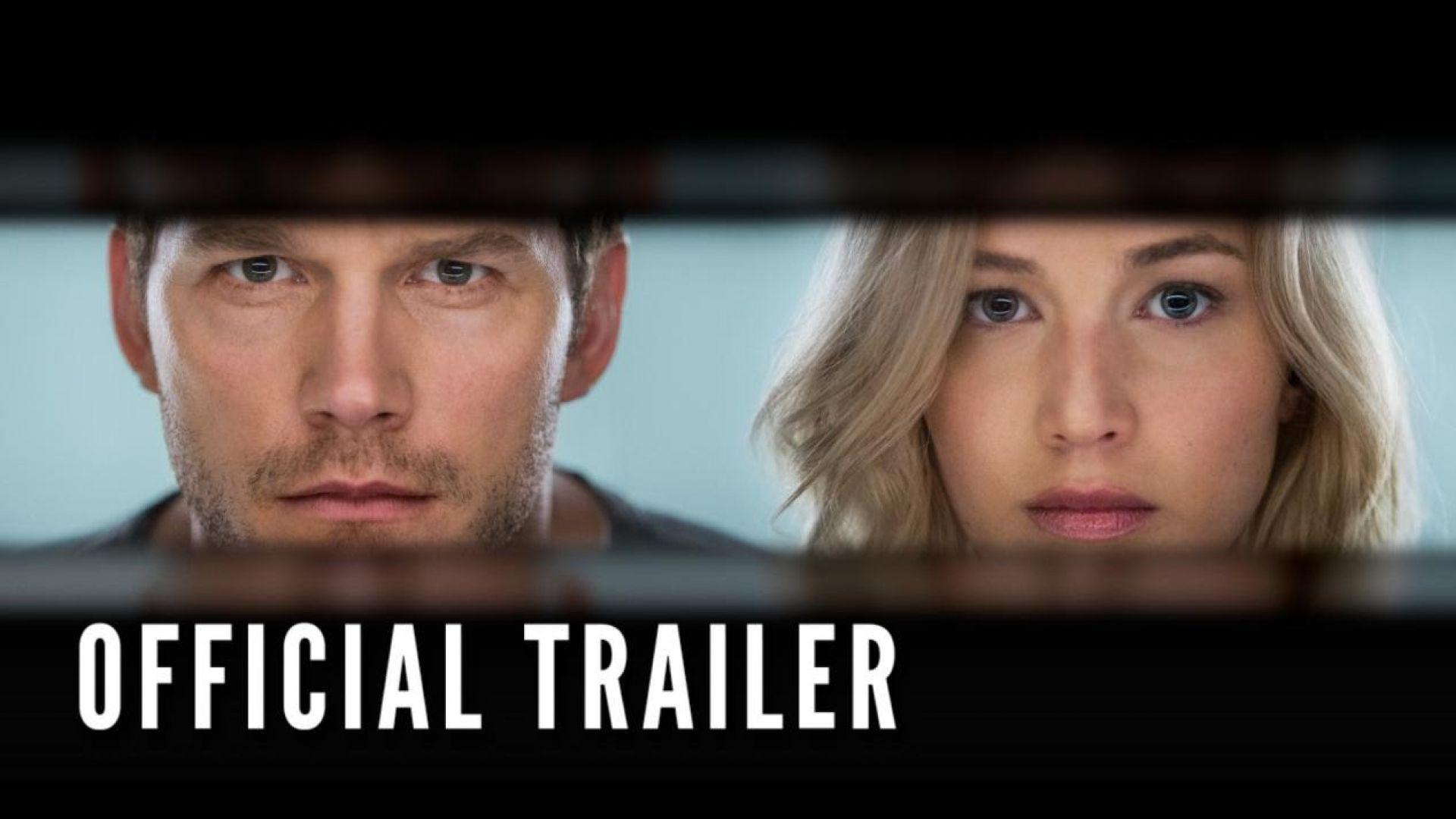 Here's the full trailer of Jennifer Lawrence and Chris Pratt