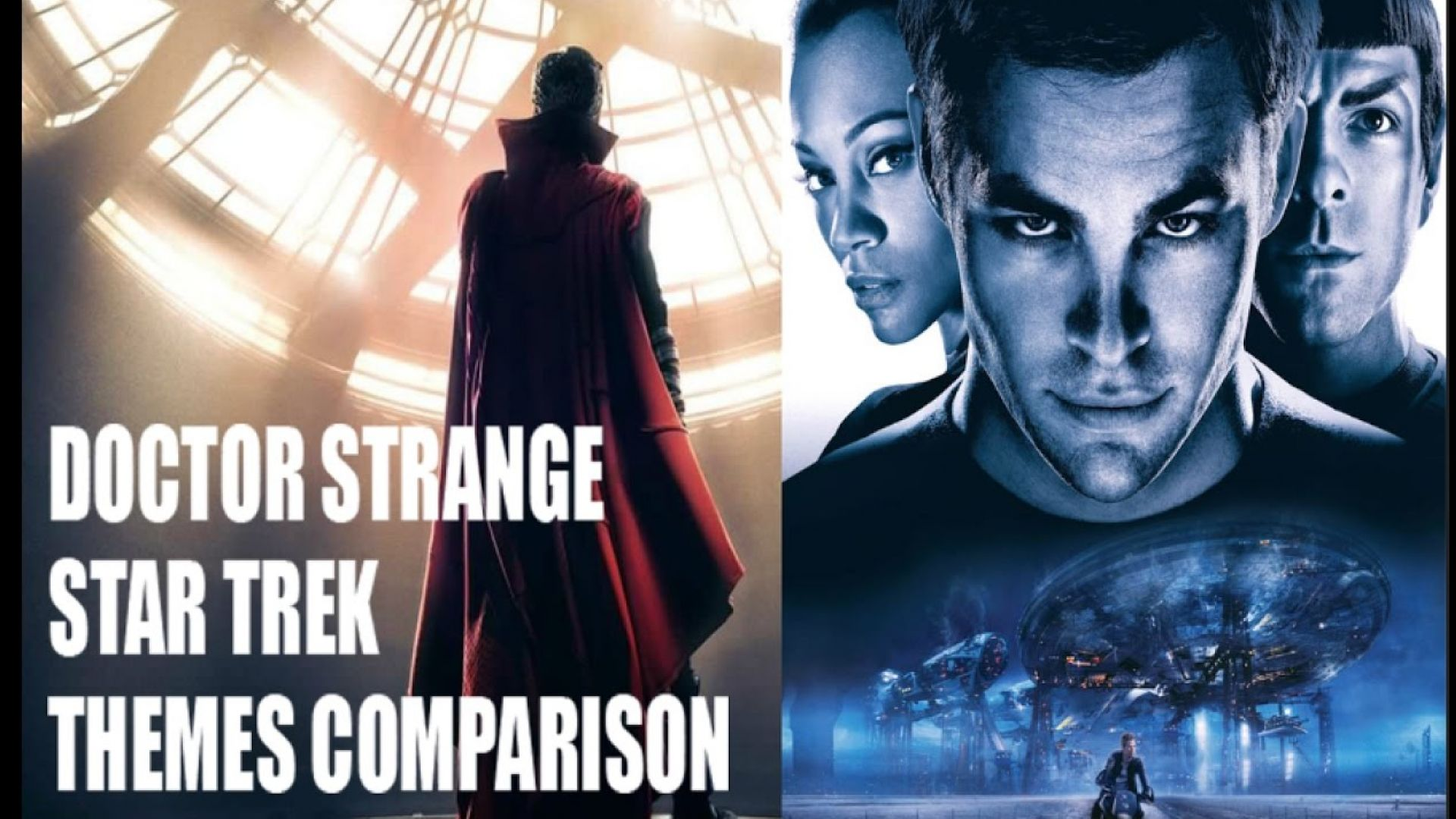 Doctor Strange & Star Trek Themes By Michael Giacchino COMPA