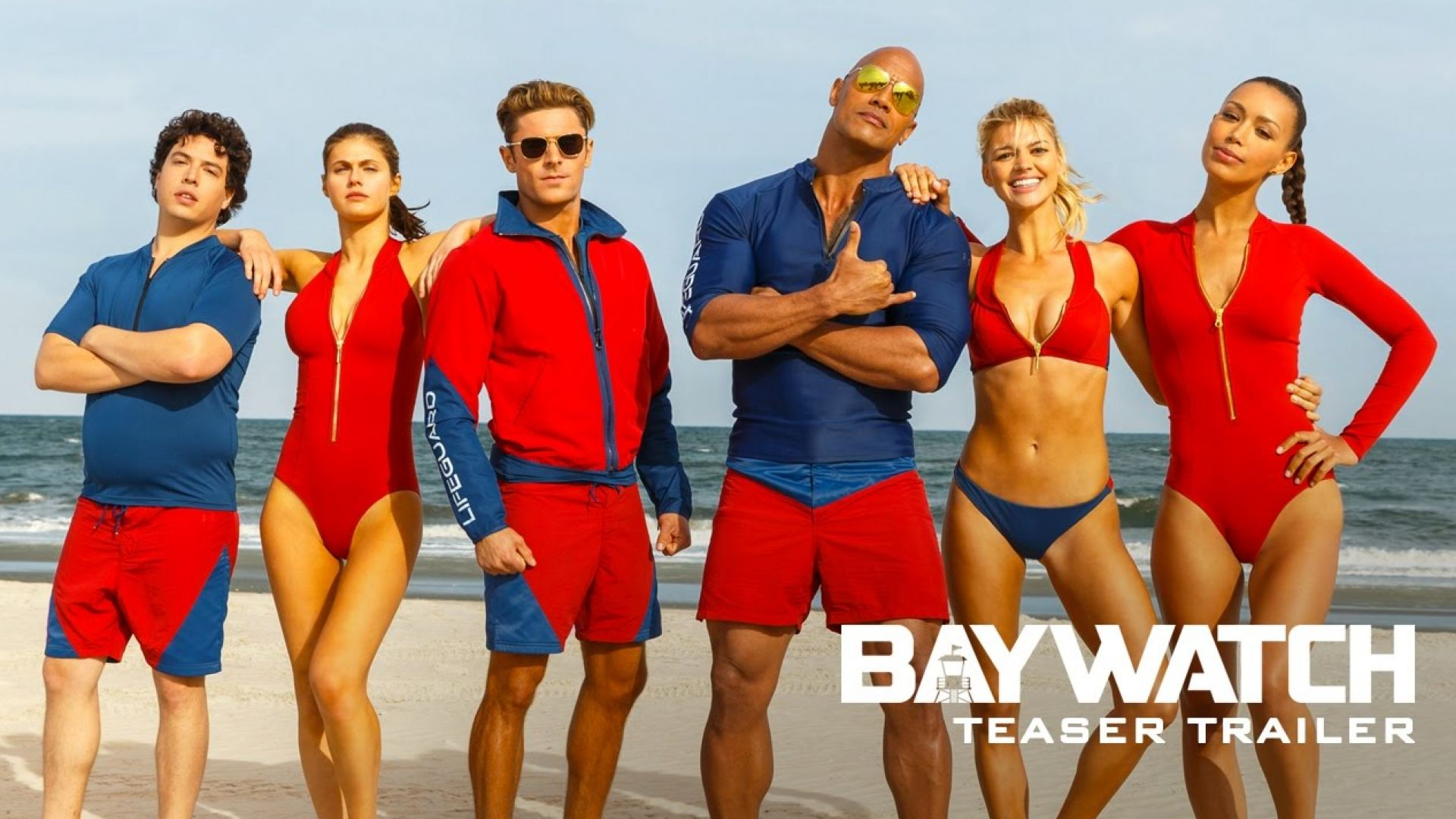 Baywatch Teaser Trailer (2017)
