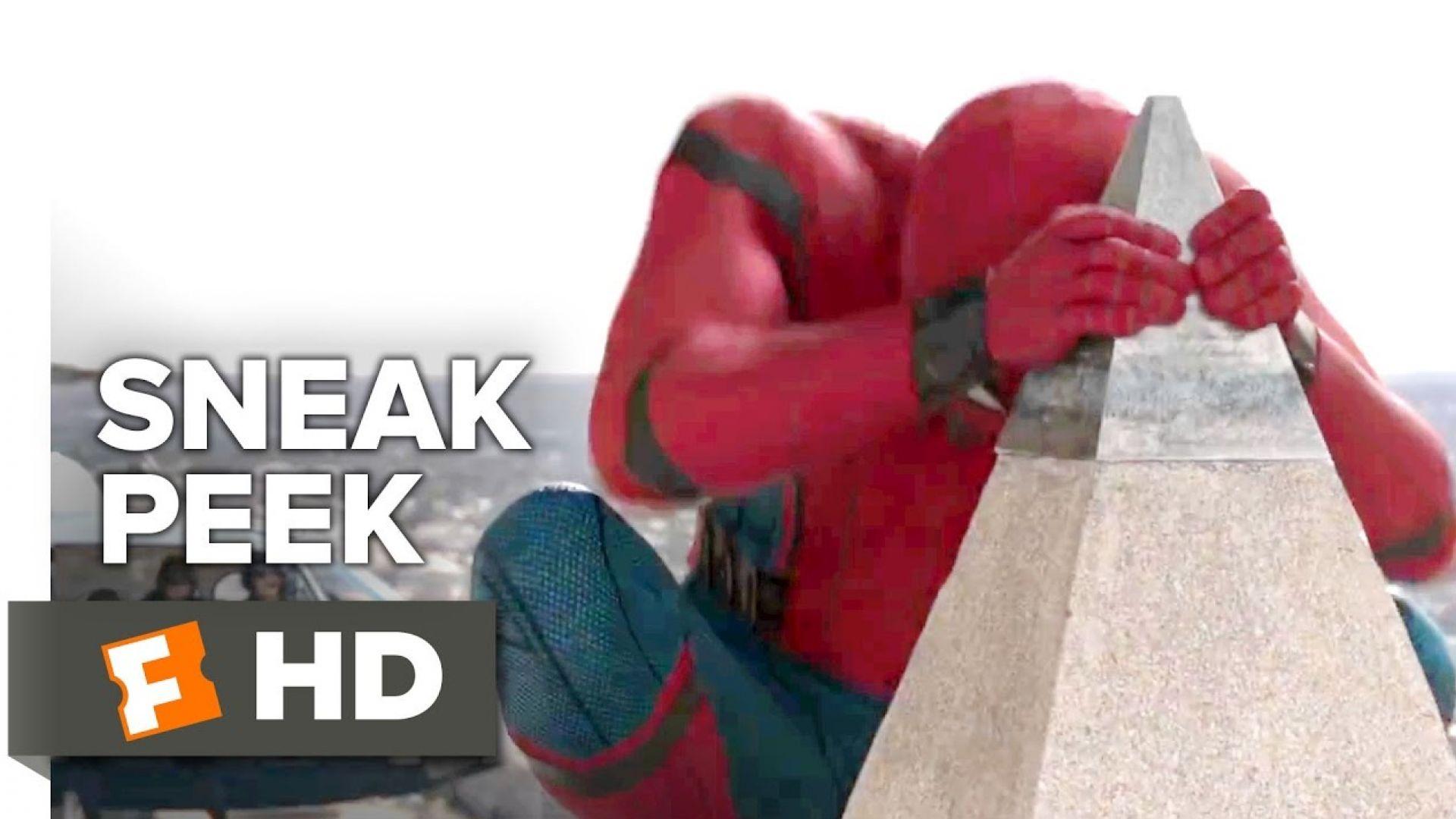 Sneak peek footage at Spider-Man: Homecoming ahead of first