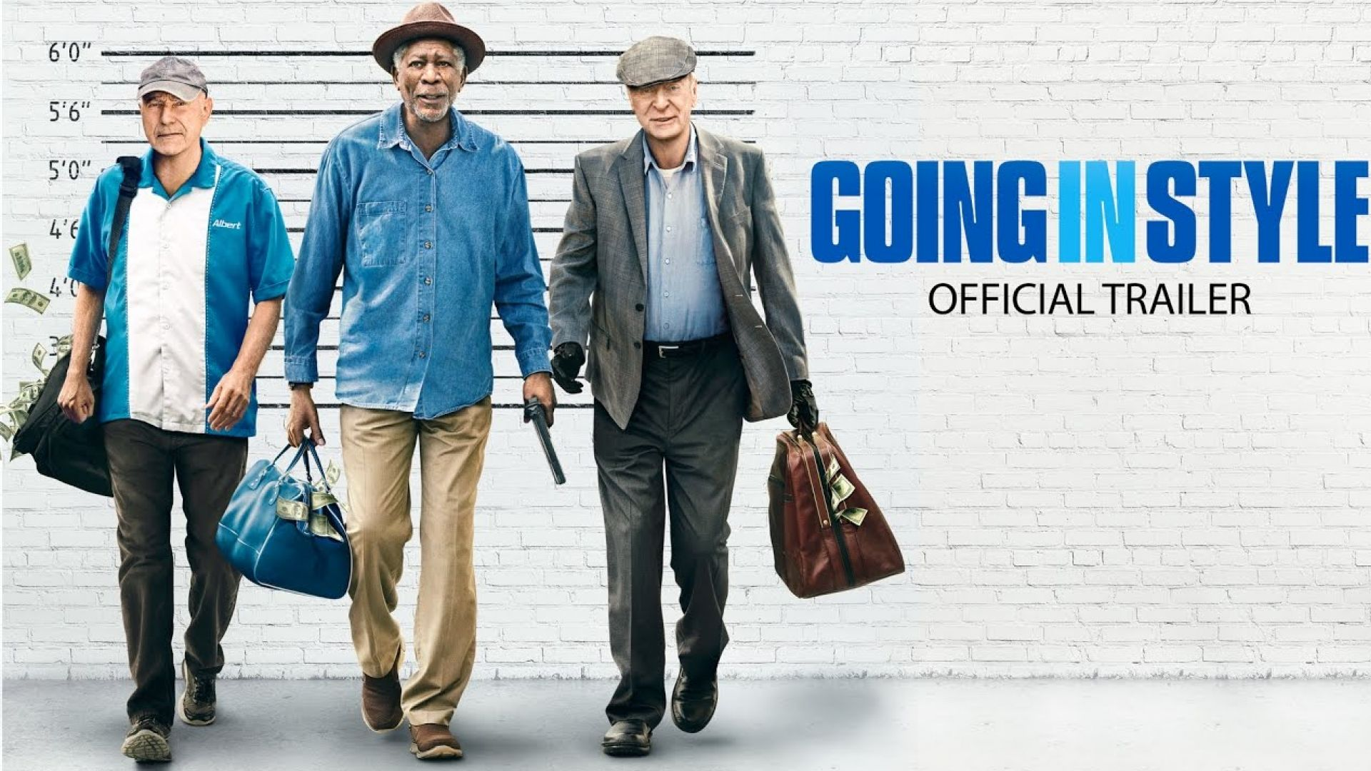 Trailer of heist comedy 'Going in Style' with Alan Arkin, Mo