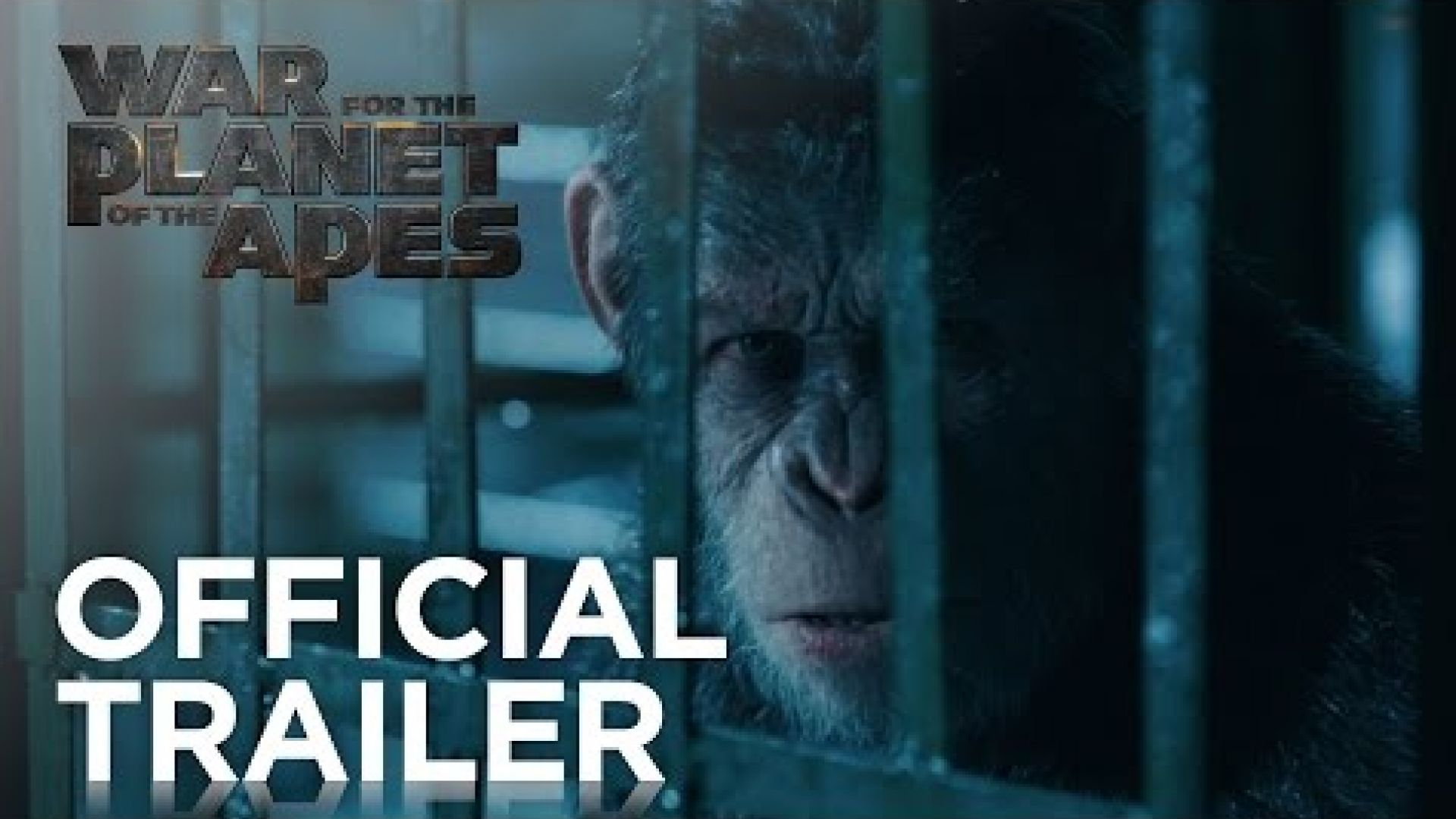 Check out the epic new trailer of 'War For The Planet of The