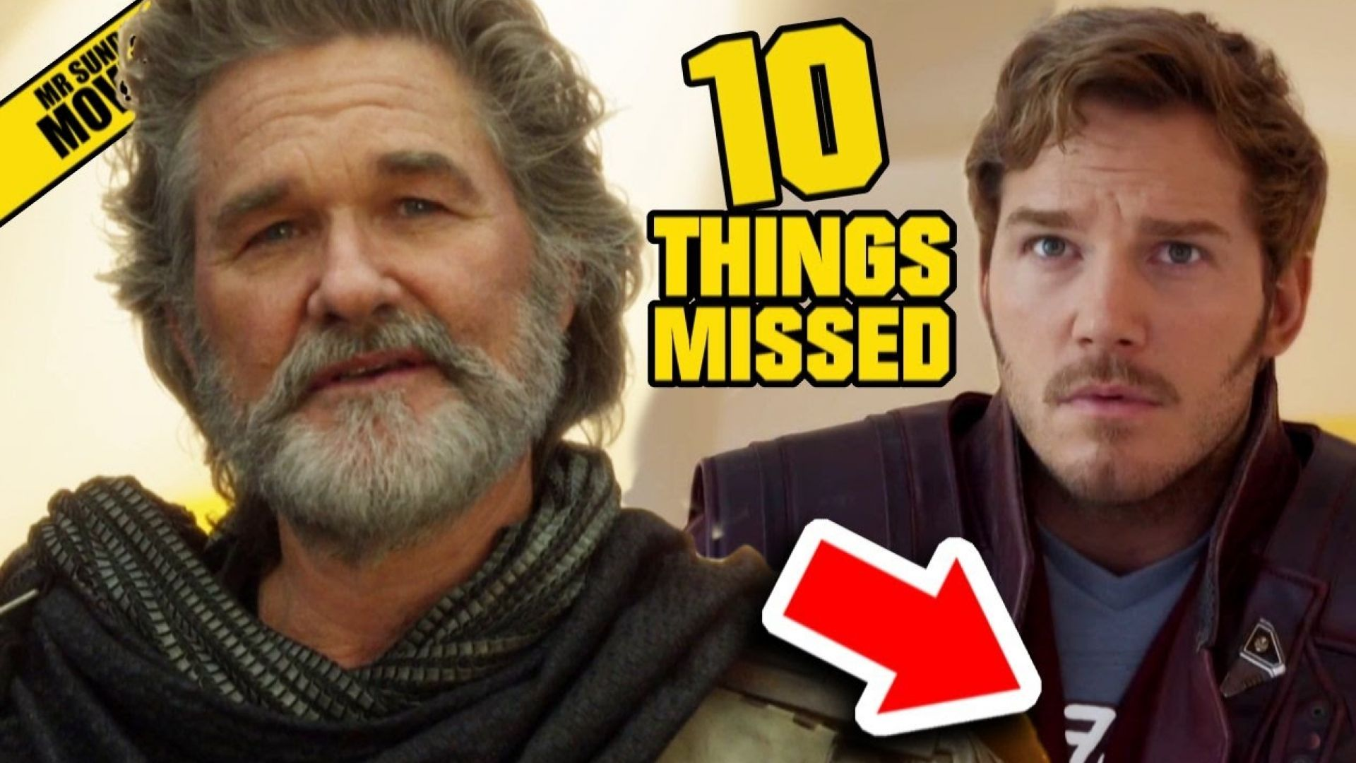 New Guardians of The Galaxy Vol. Trailer Easter Eggs, Things