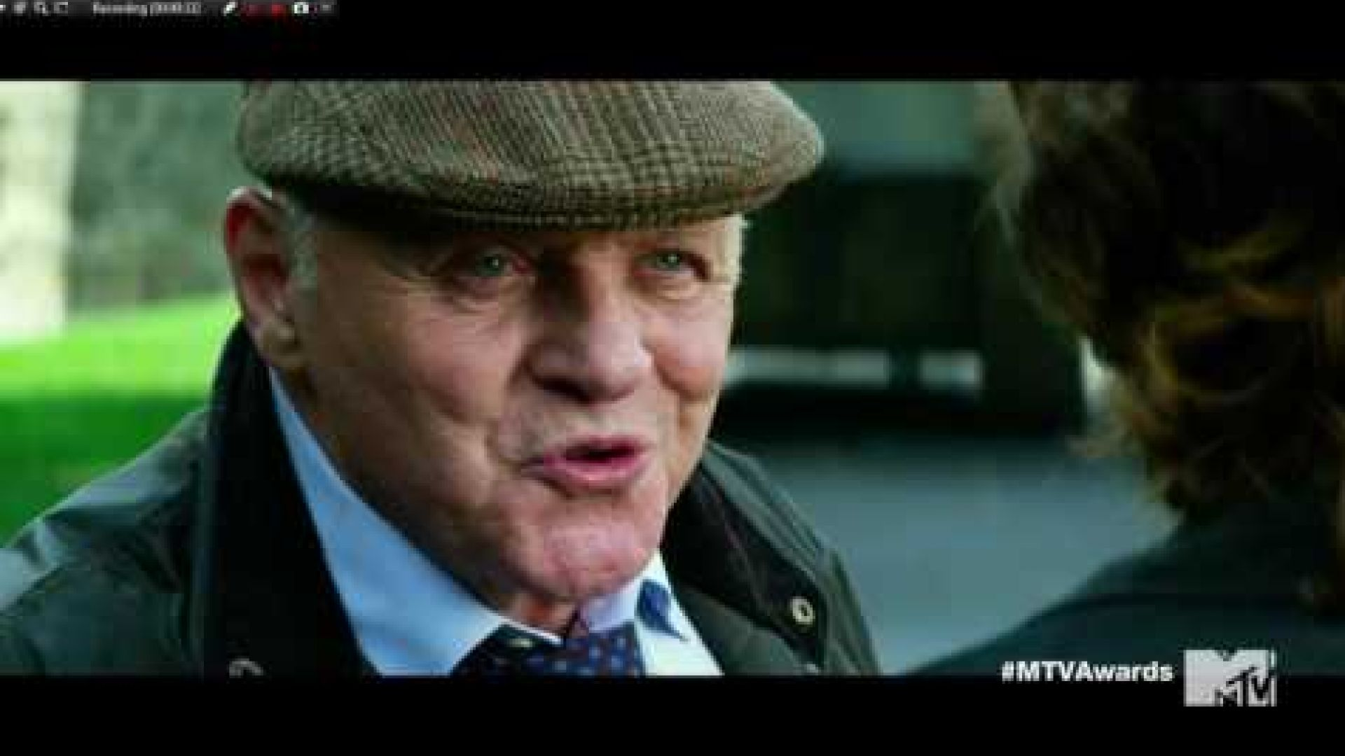 Watch Anthony Hopkins in the MTV Movie Awards Clip from 'Tra