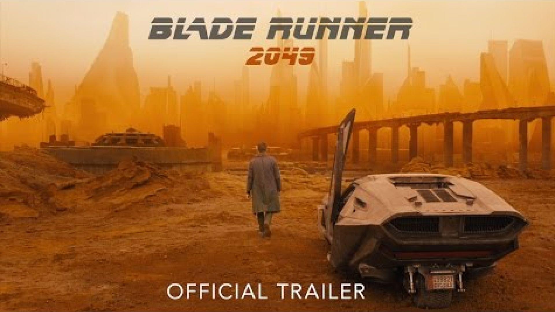 New Trailer for 'Blade Runner 2049'