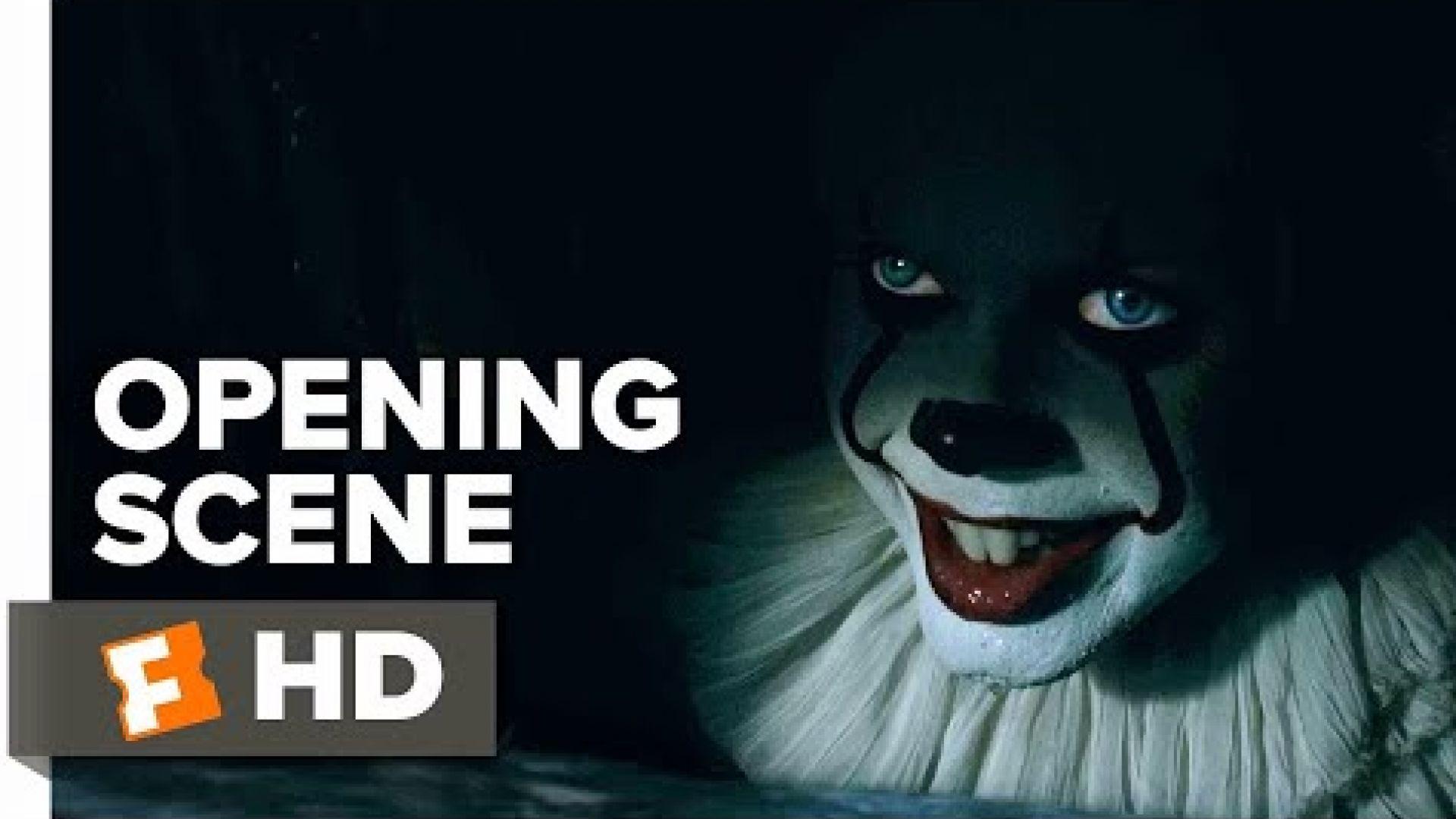 It Opening Scene clips Trailers