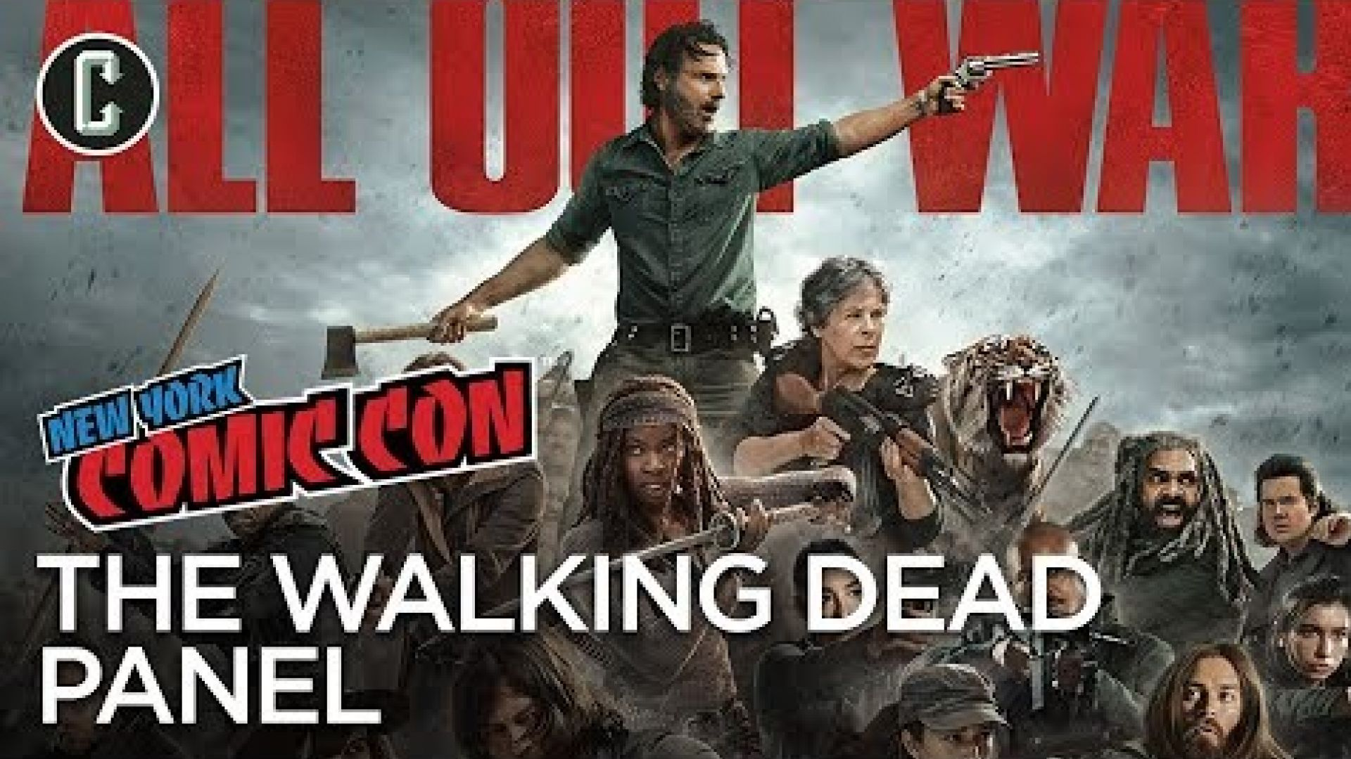 New York Comic Con - The Walking Dead Season 8 Panel