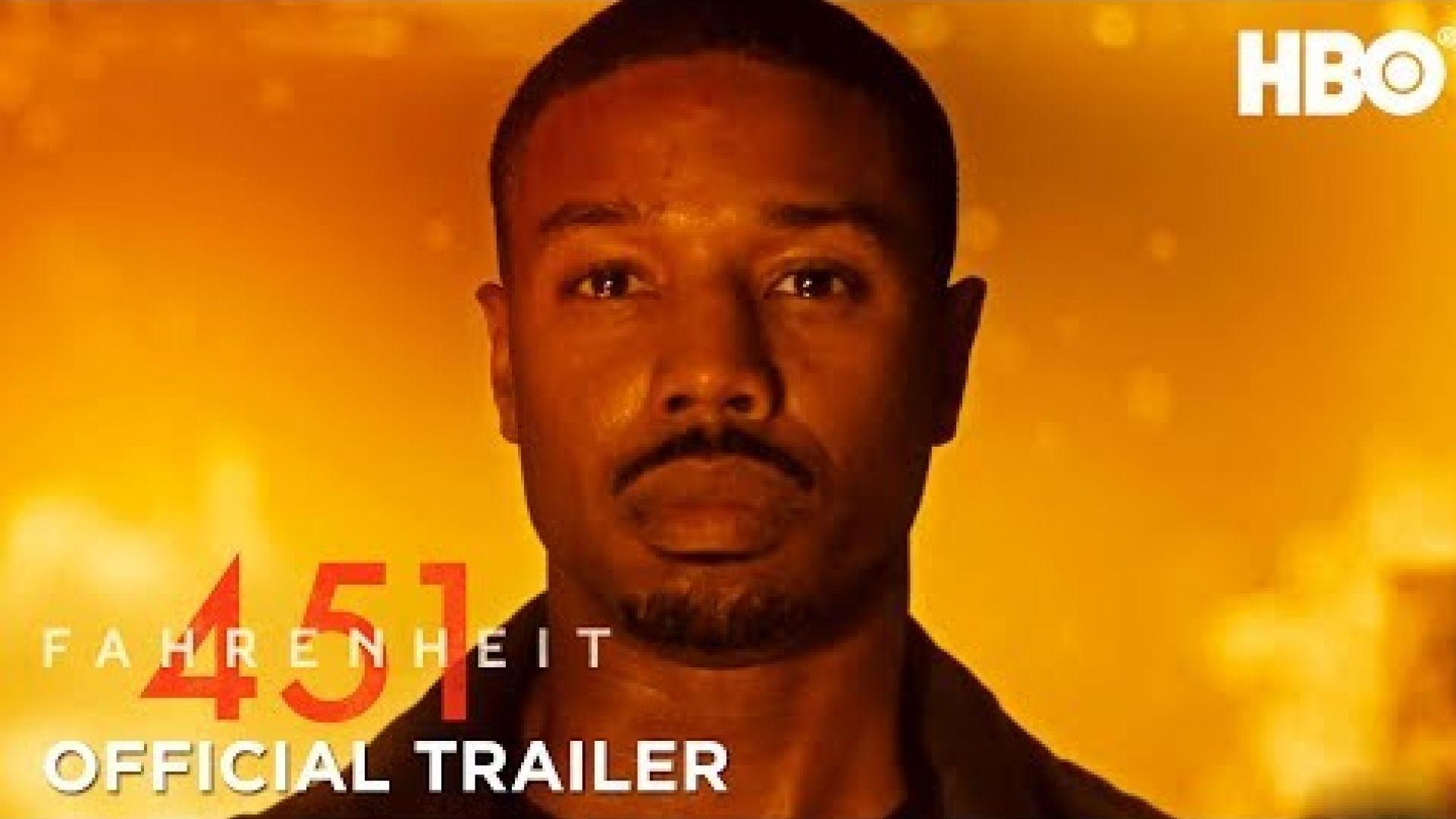 'Fahrenheit 451' Trailer