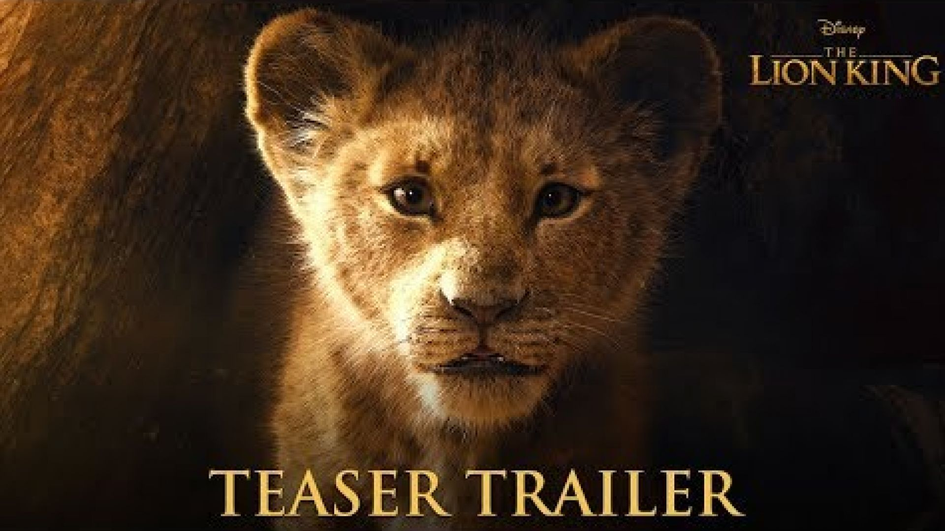 'The Lion King' 2019 Teaser Trailer